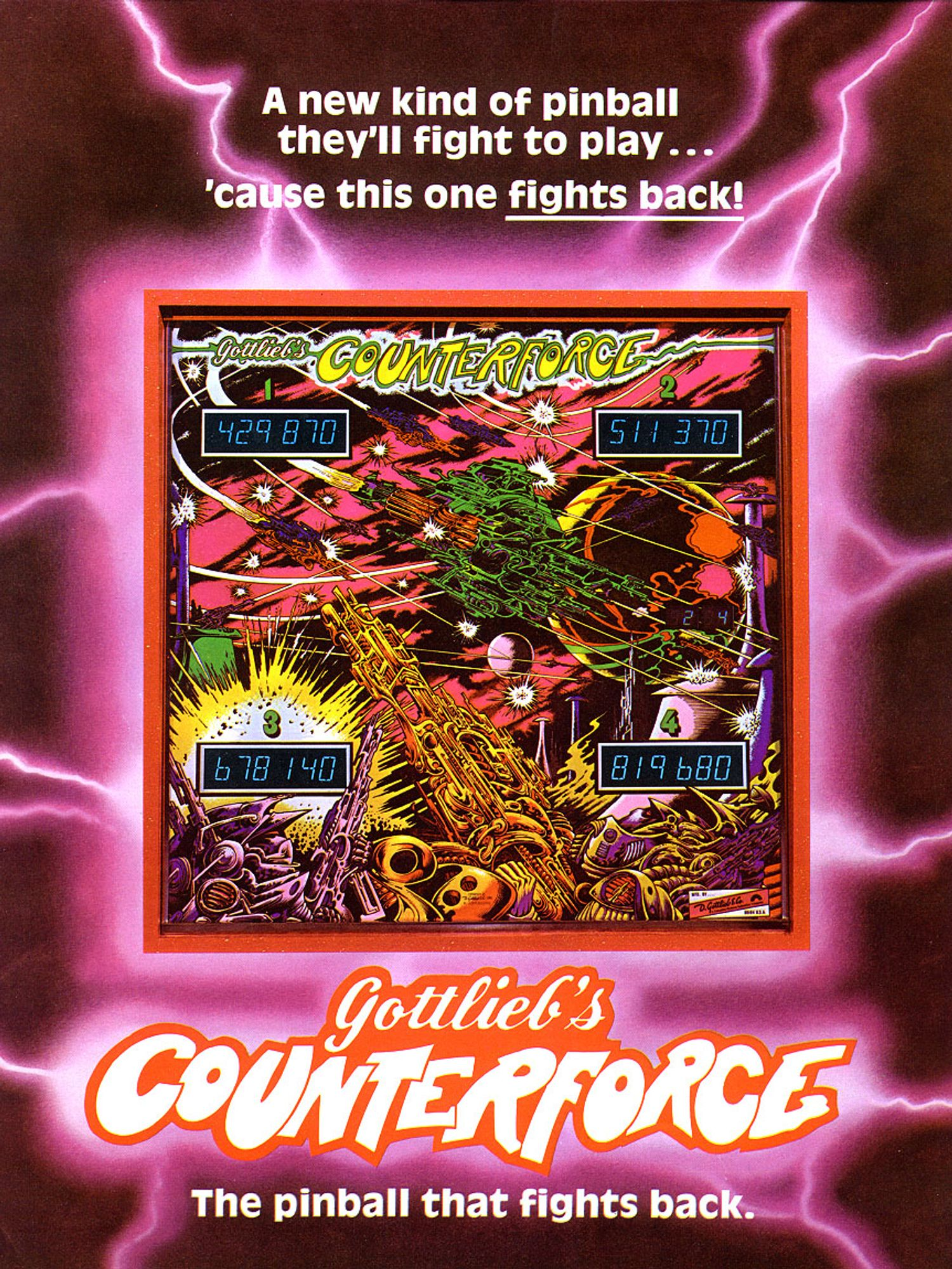 Counterforce Flyer front