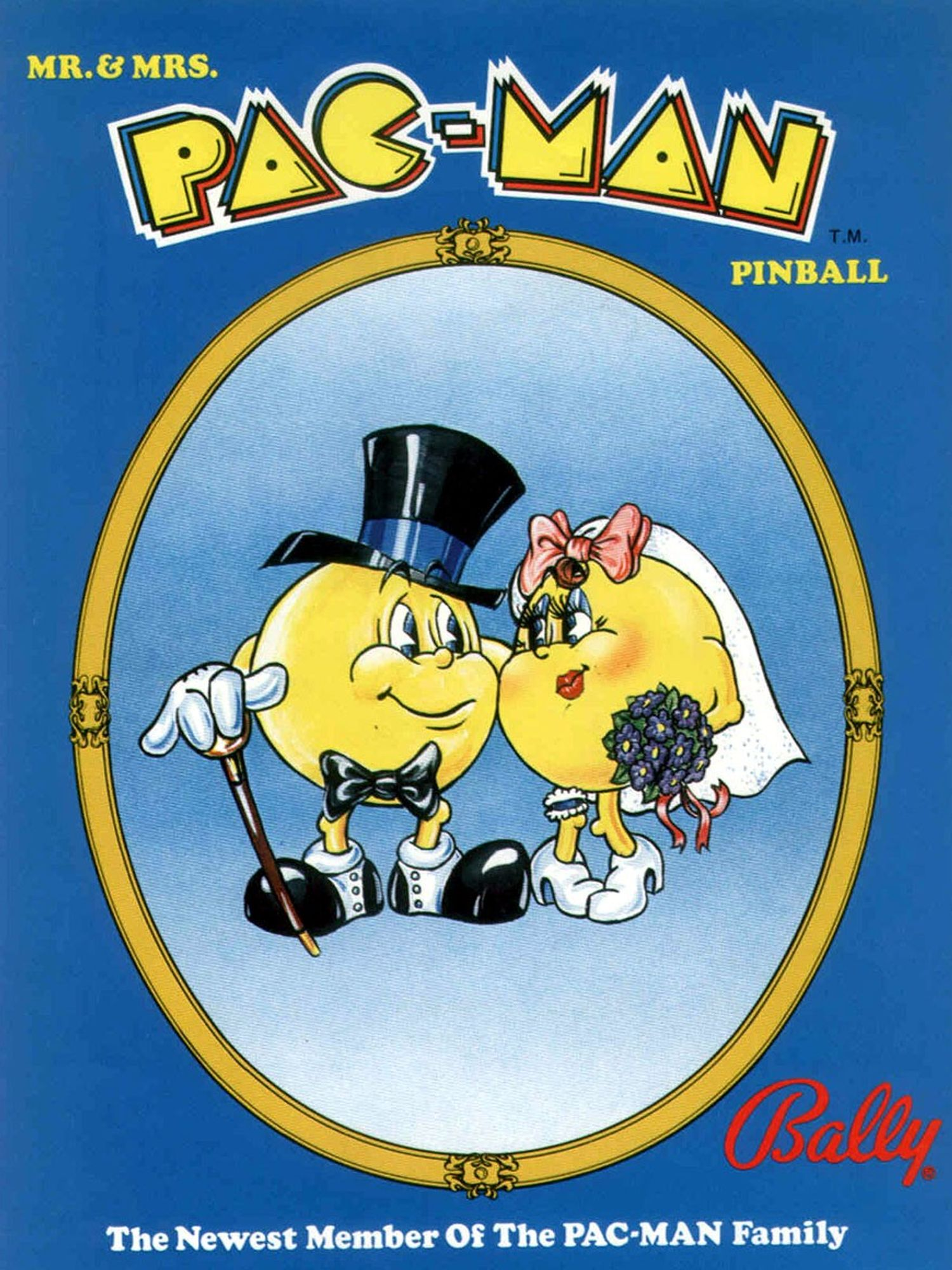 Mr. & Mrs. Pac-Man Flyer front