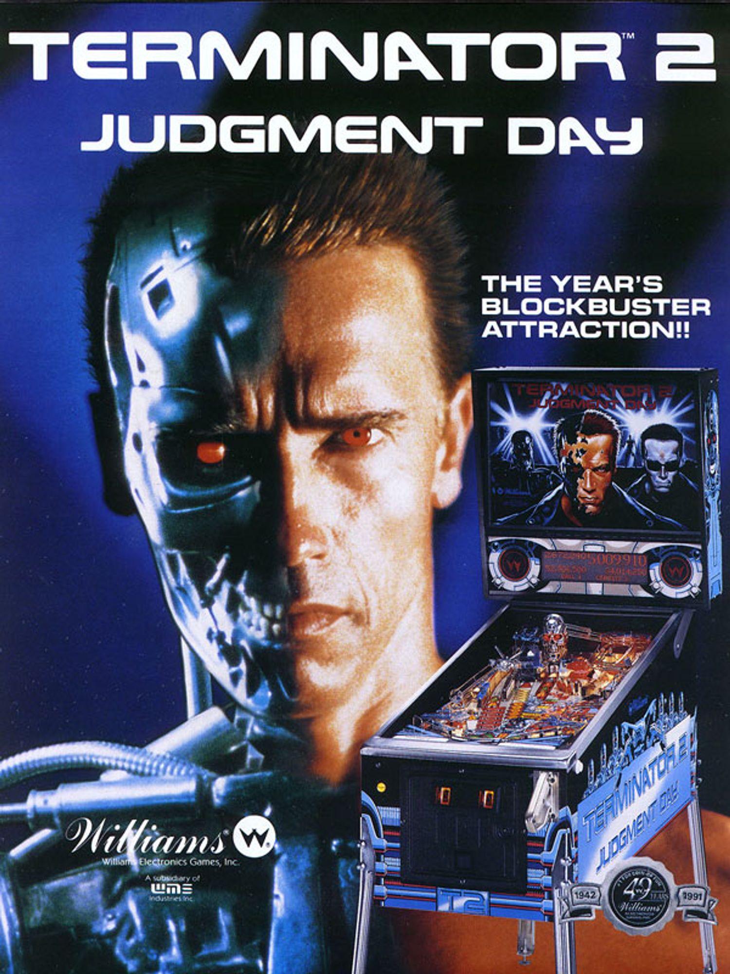 Terminator 2 Flyer Vorderseite