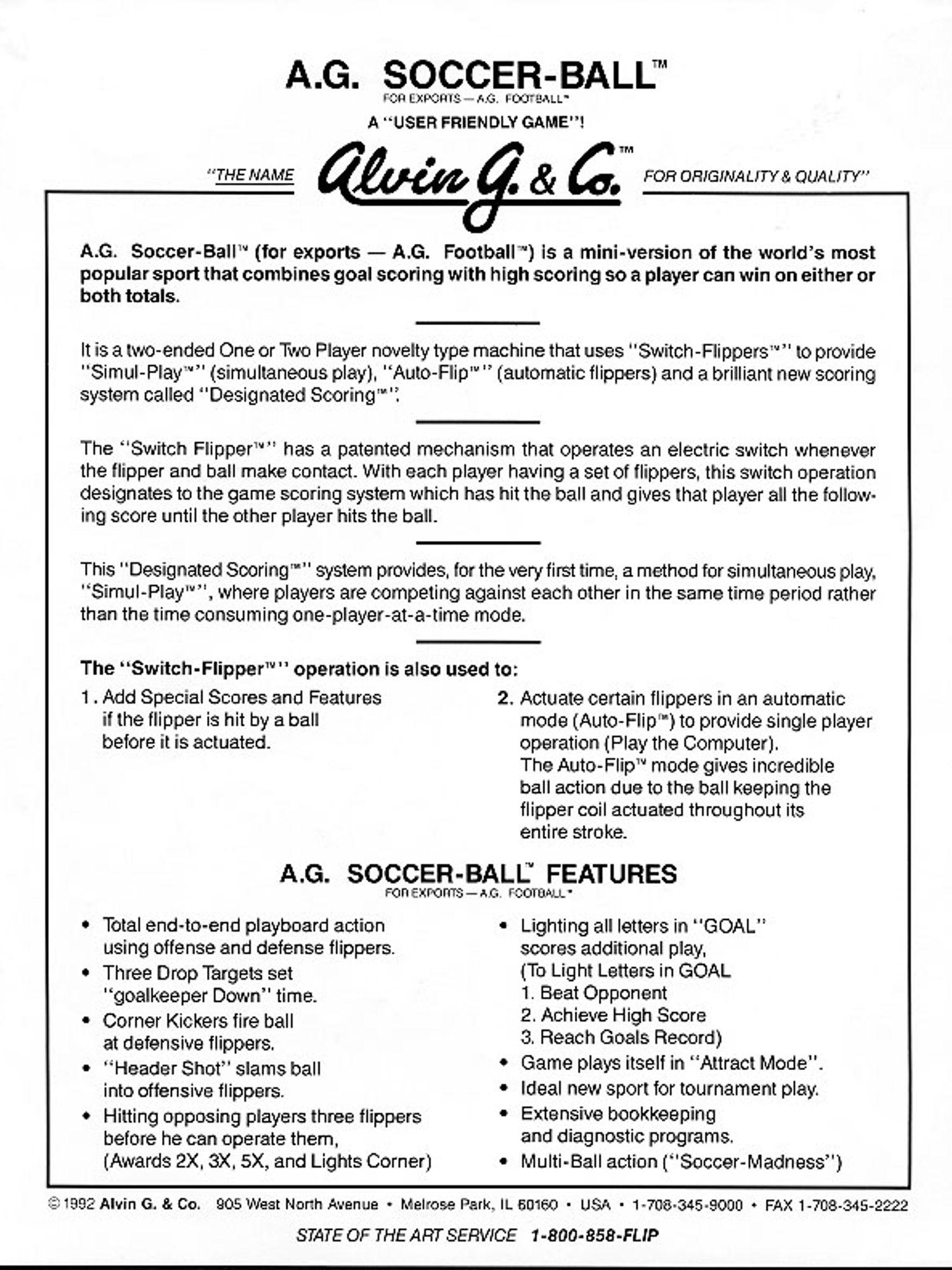 Soccer Ball Flyer 2