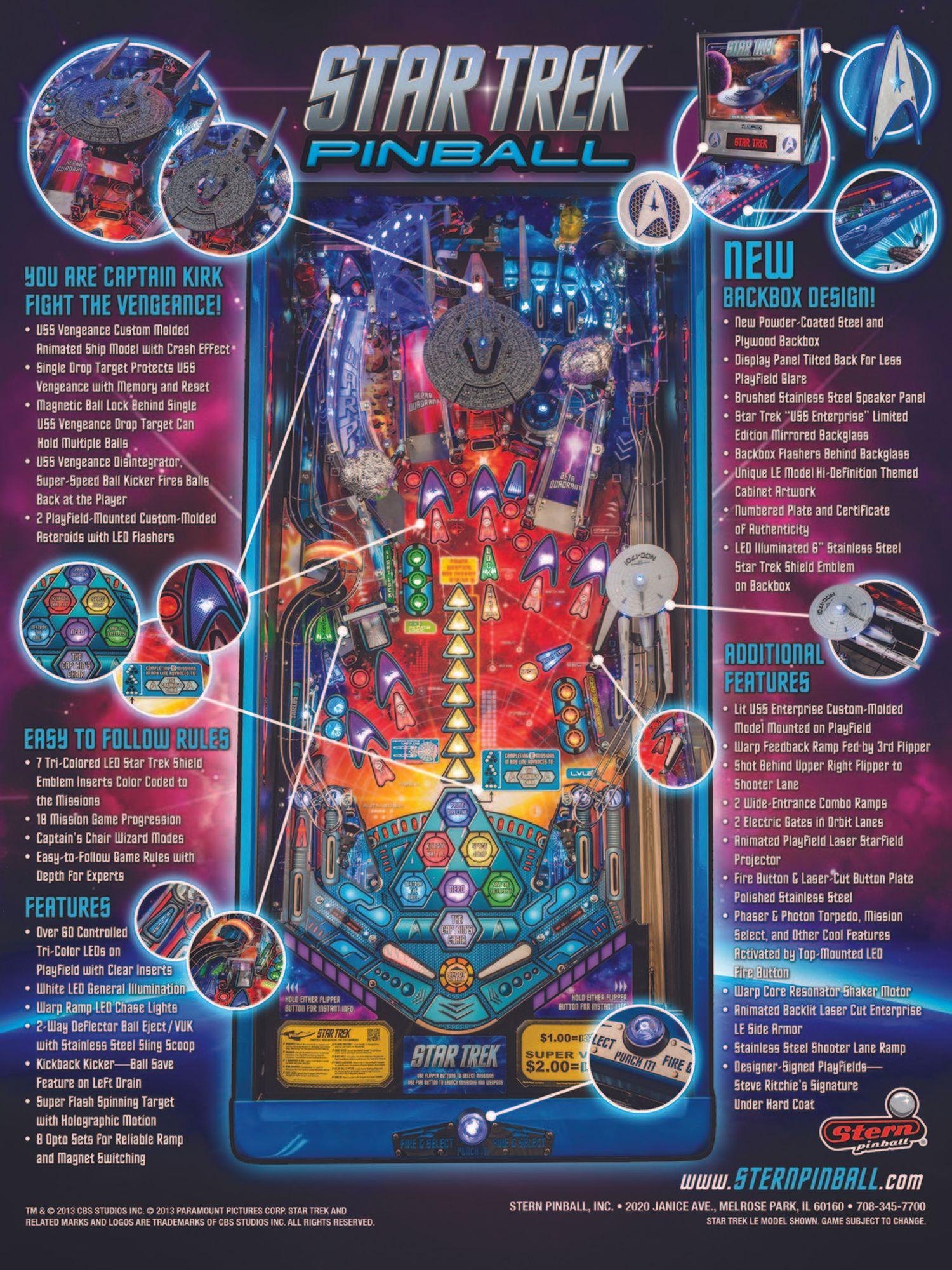 Star Trek LE Flyer Seite 2