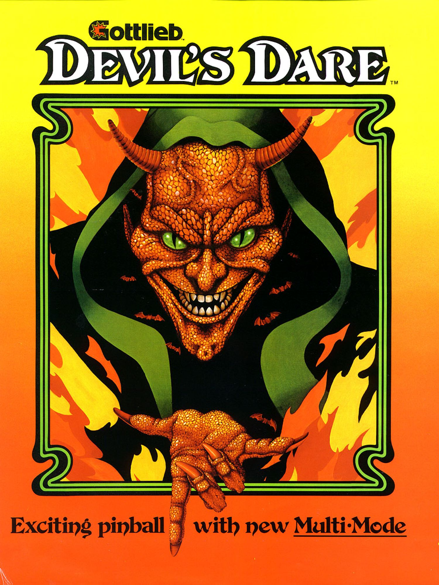 Devils Dare Flyer front