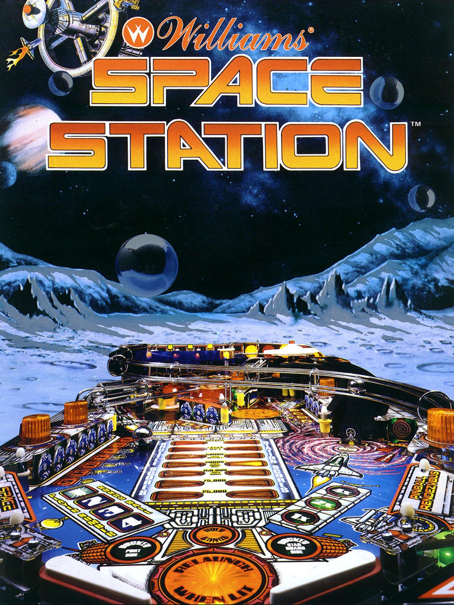 Space Station Flyer Vorderseite