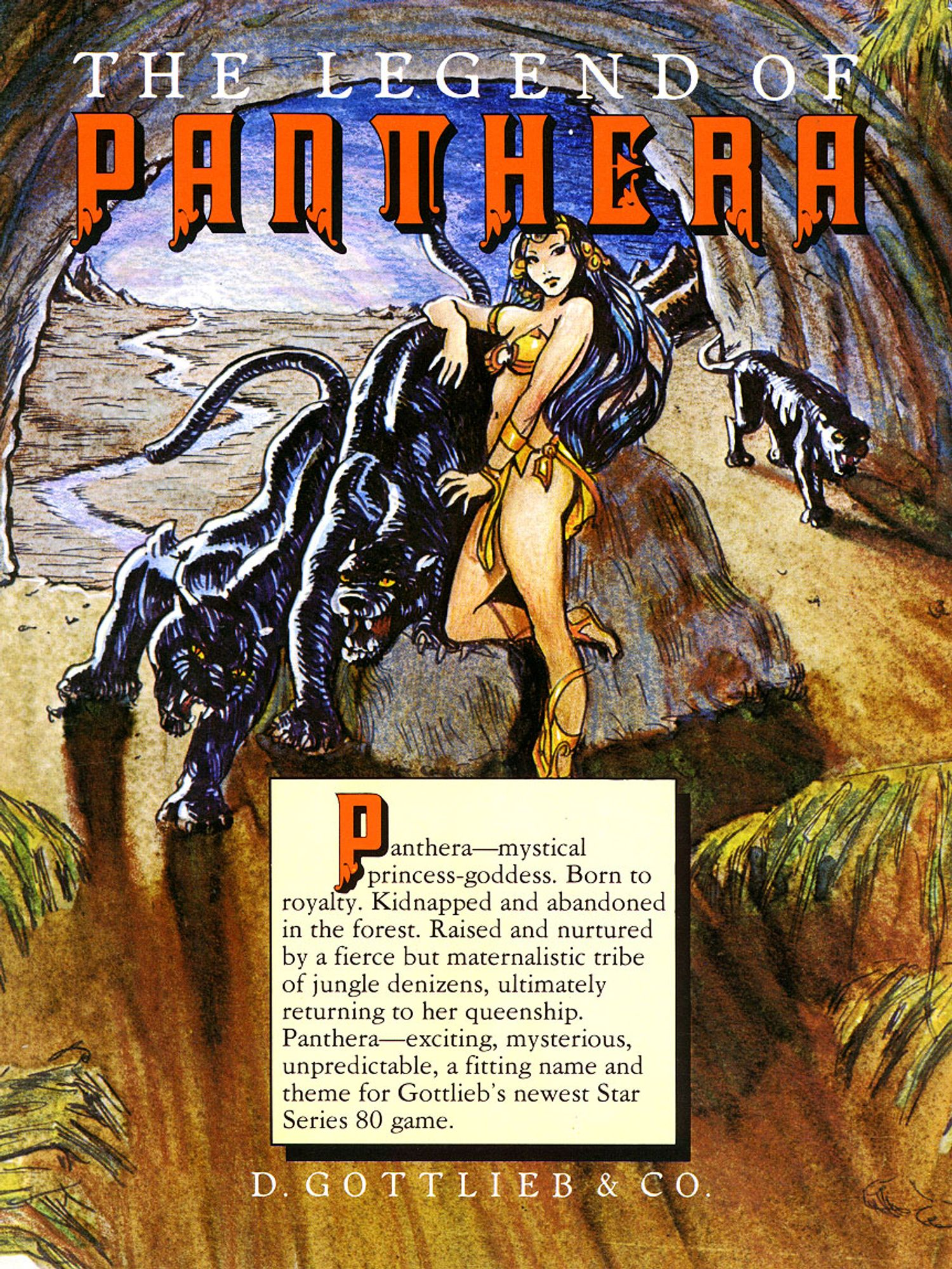 Panthera Flyer front