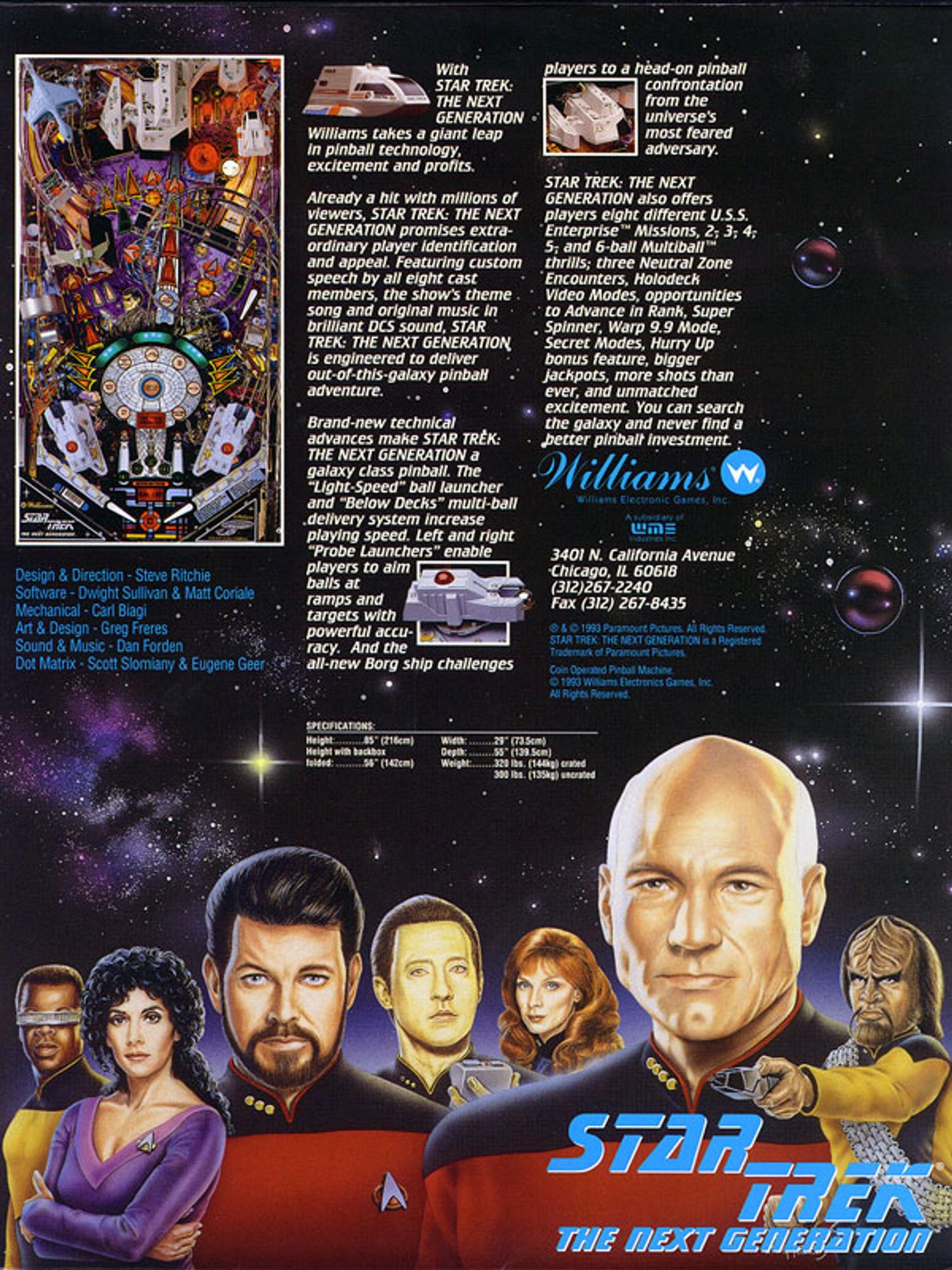 Star Trek next Generation Flyer Seite 5