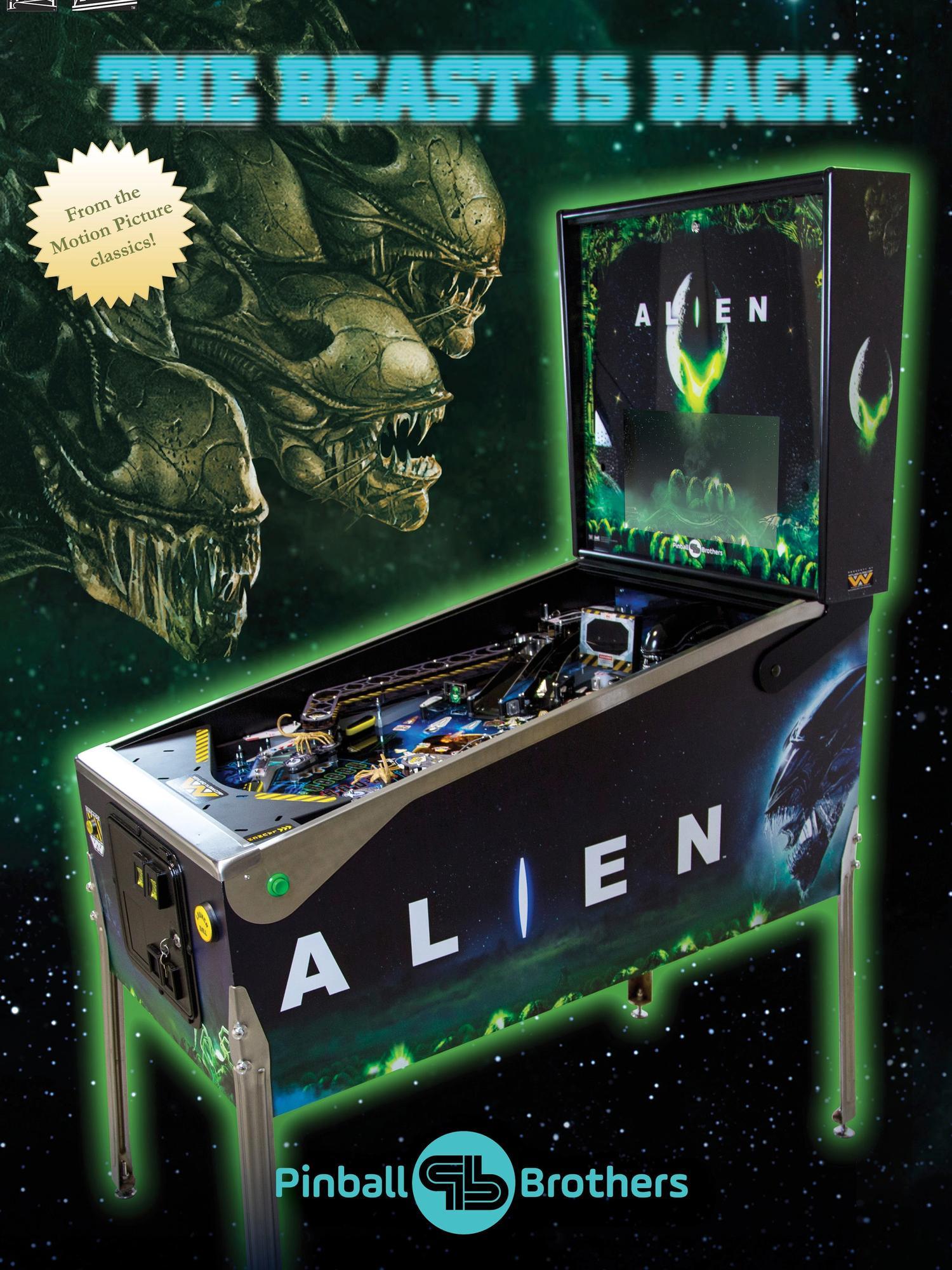 Alien Flyer Vorderseite