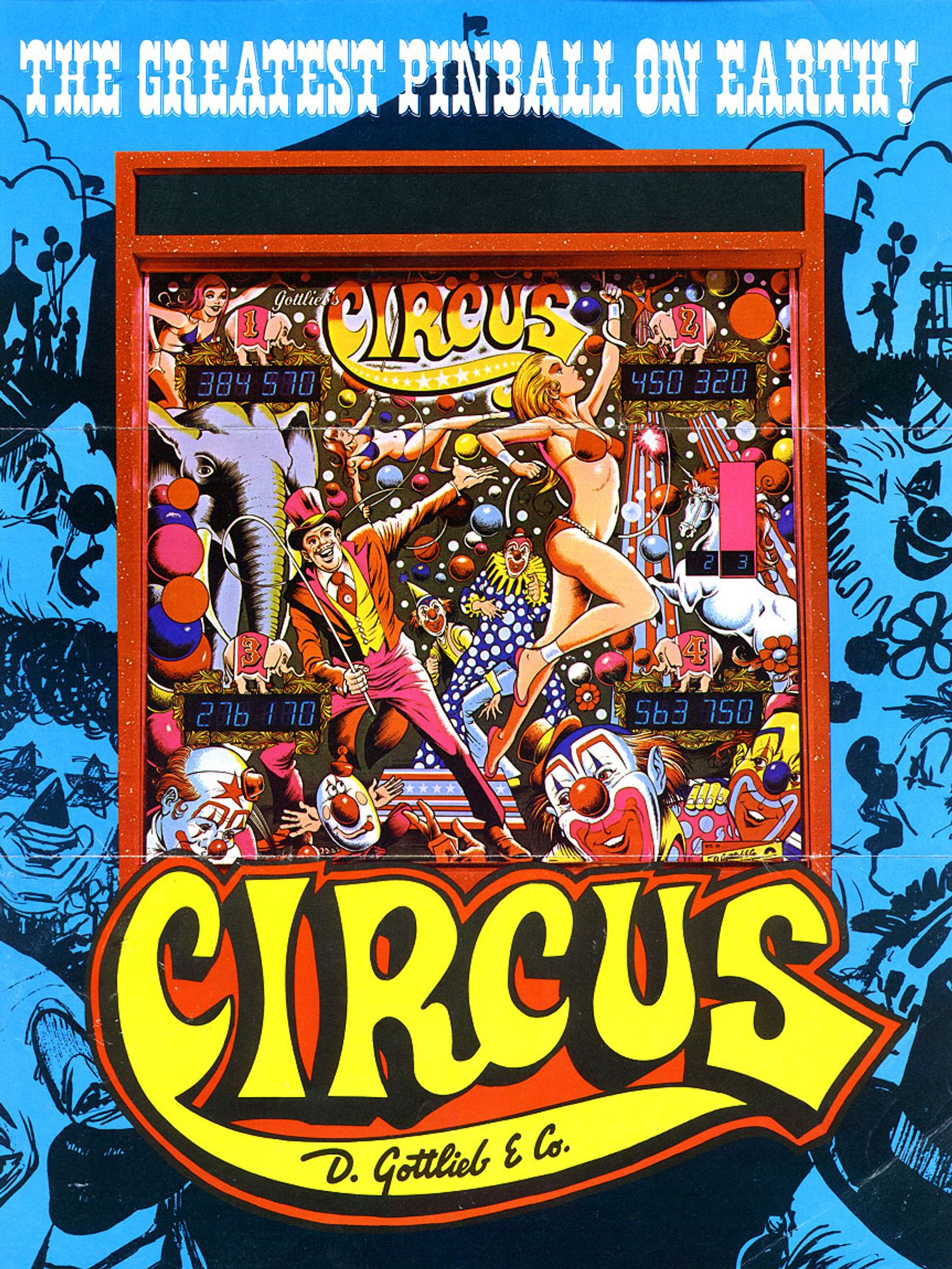Circus Flyer front
