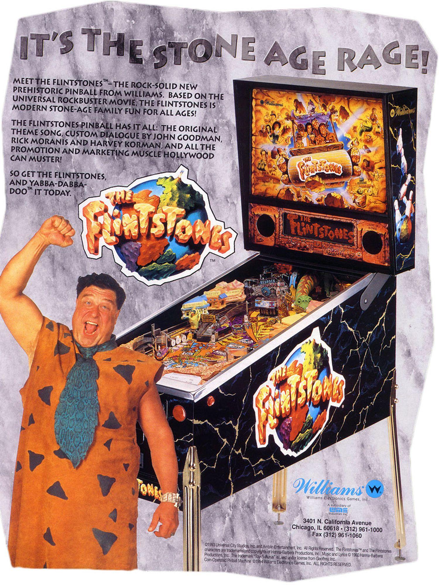 Flintstones Flyer Vorderseite
