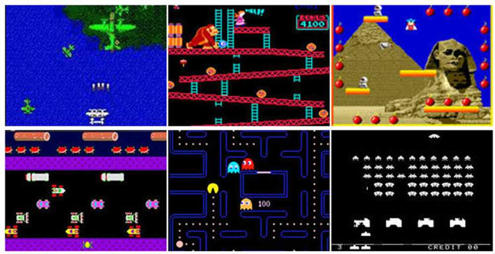 Classic Multiarcde Games