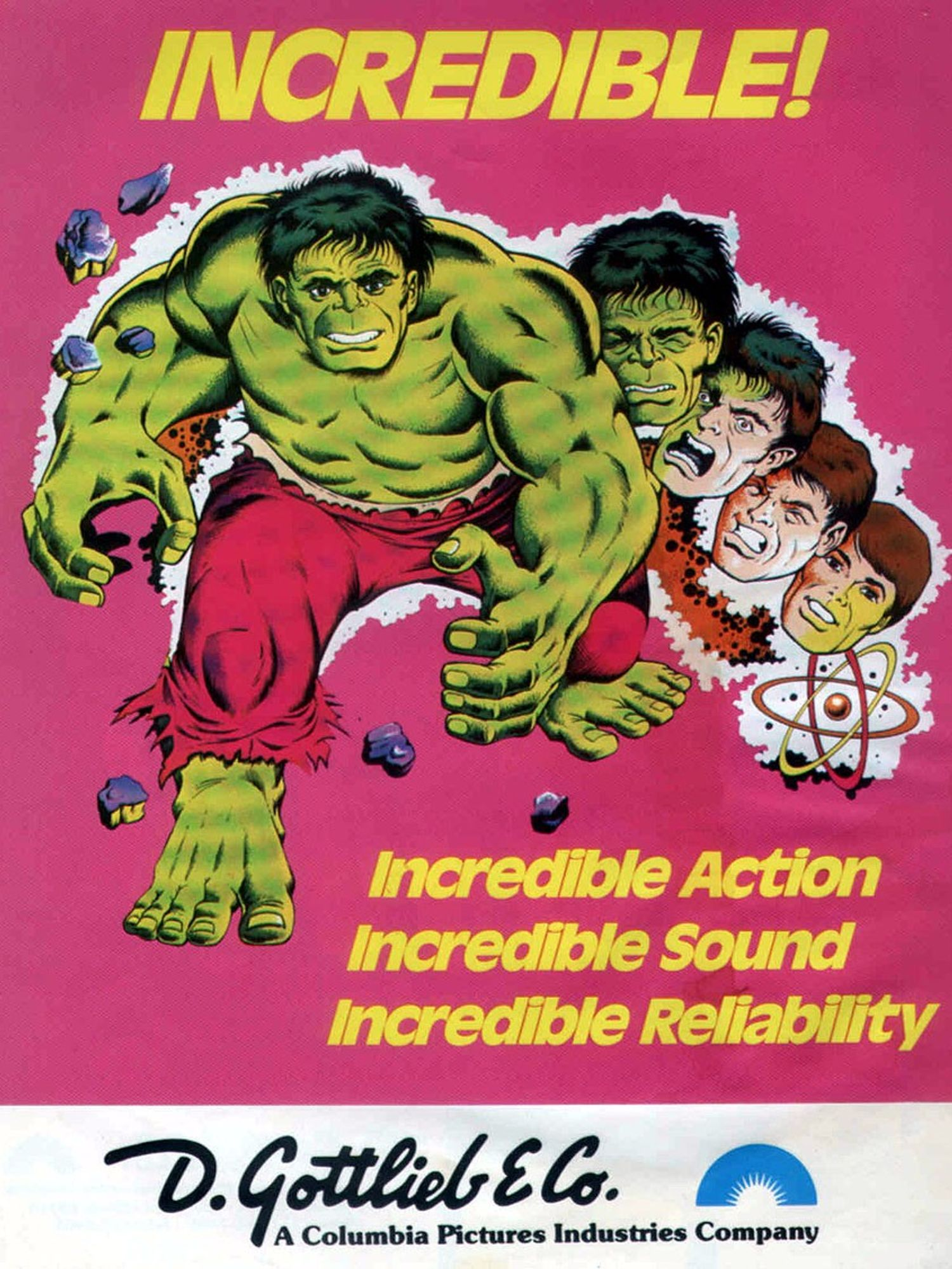 The Incredible Hulk Flyer front