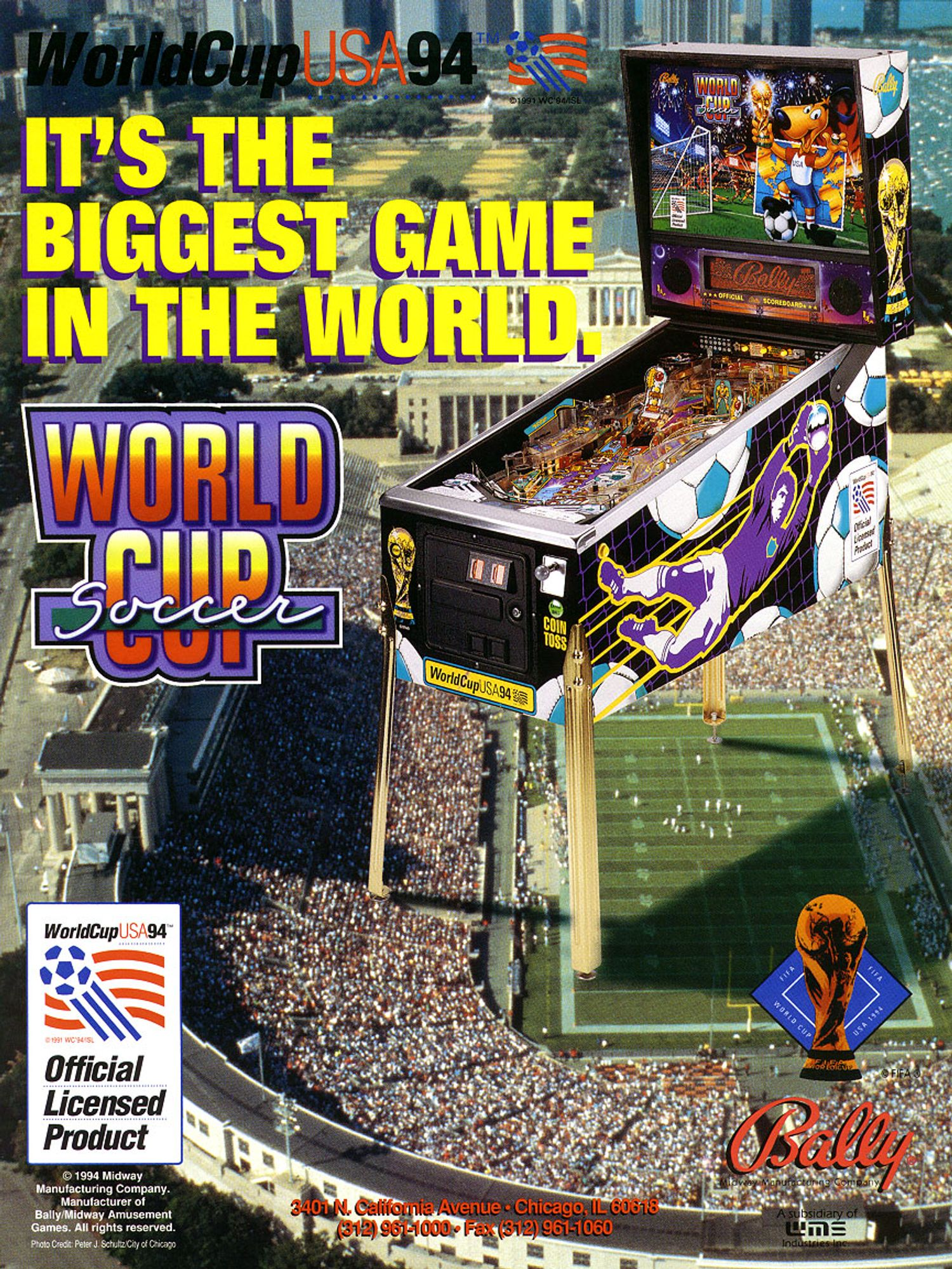 World Cup Soccer Flyer Seite 1