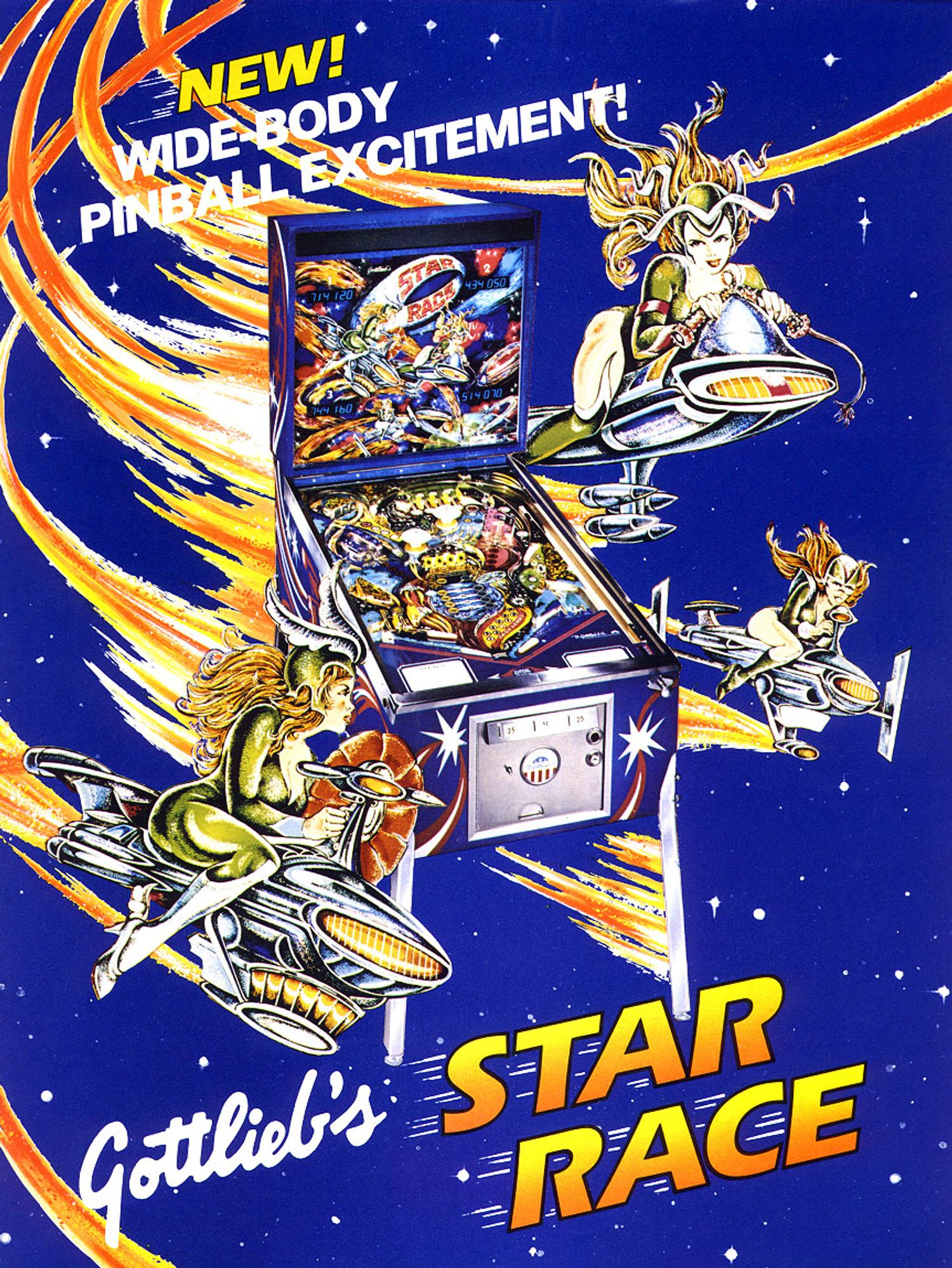 Star Race Flyer front