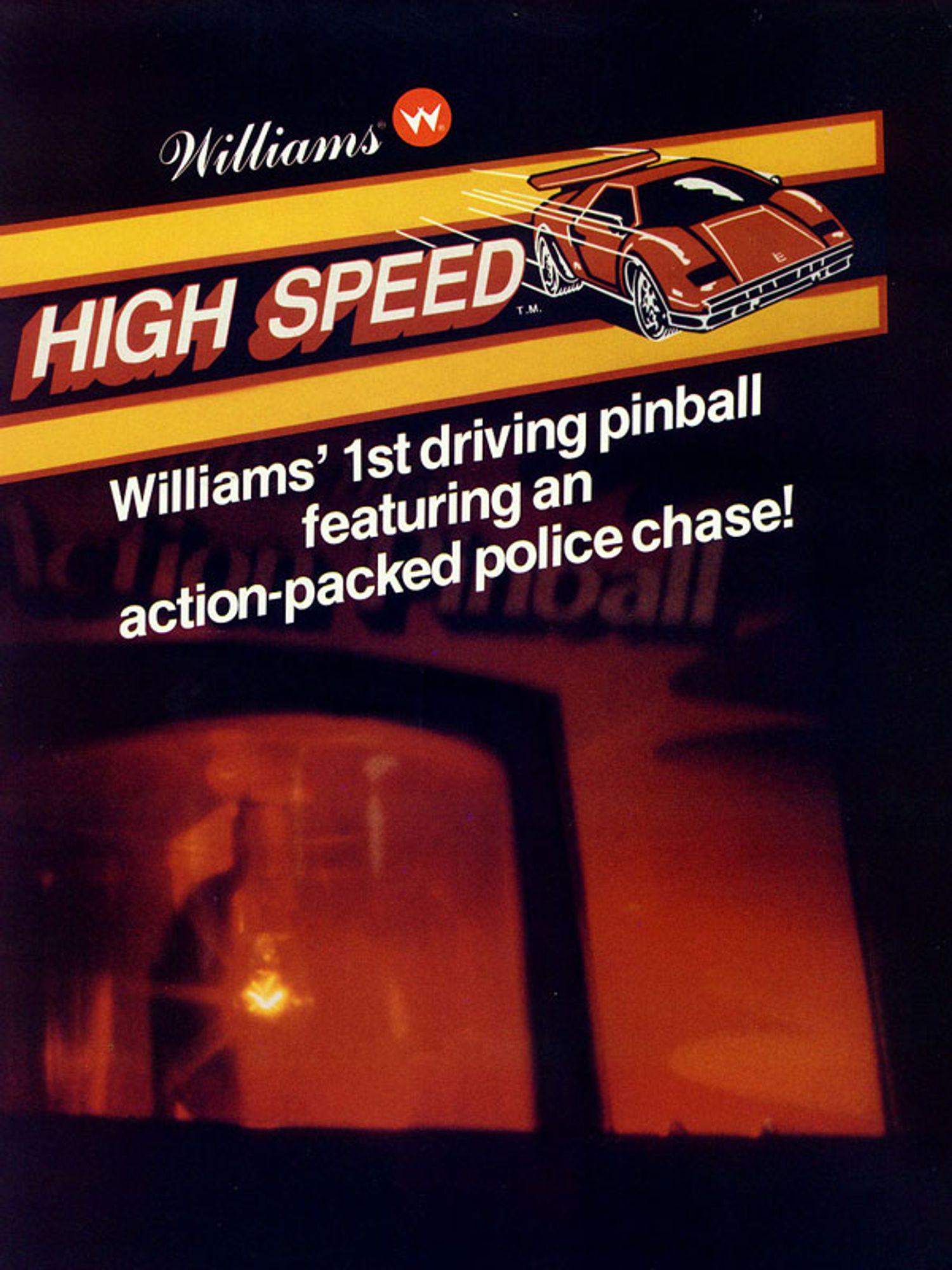 High Speed Flyer Seite 1
