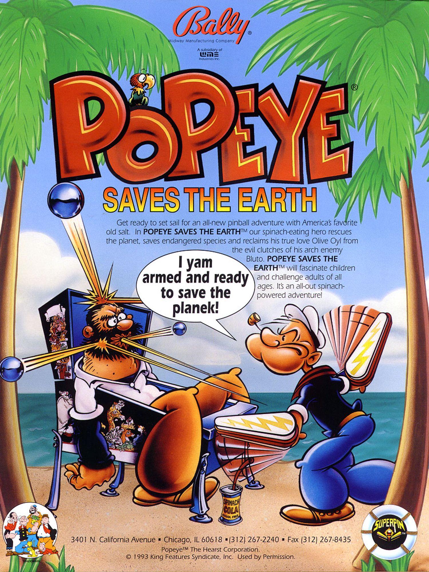 Popeye Flyer Seite 1