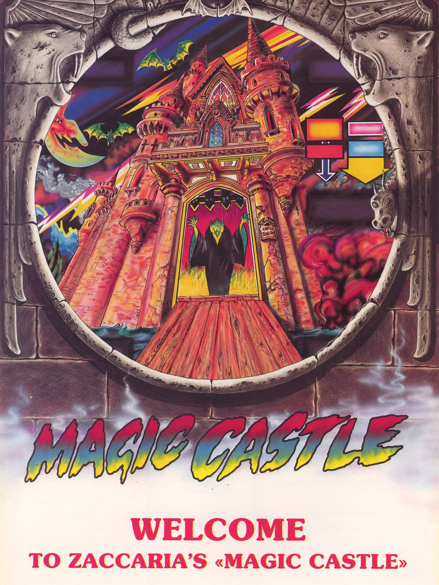 Magic Castle Flyer front