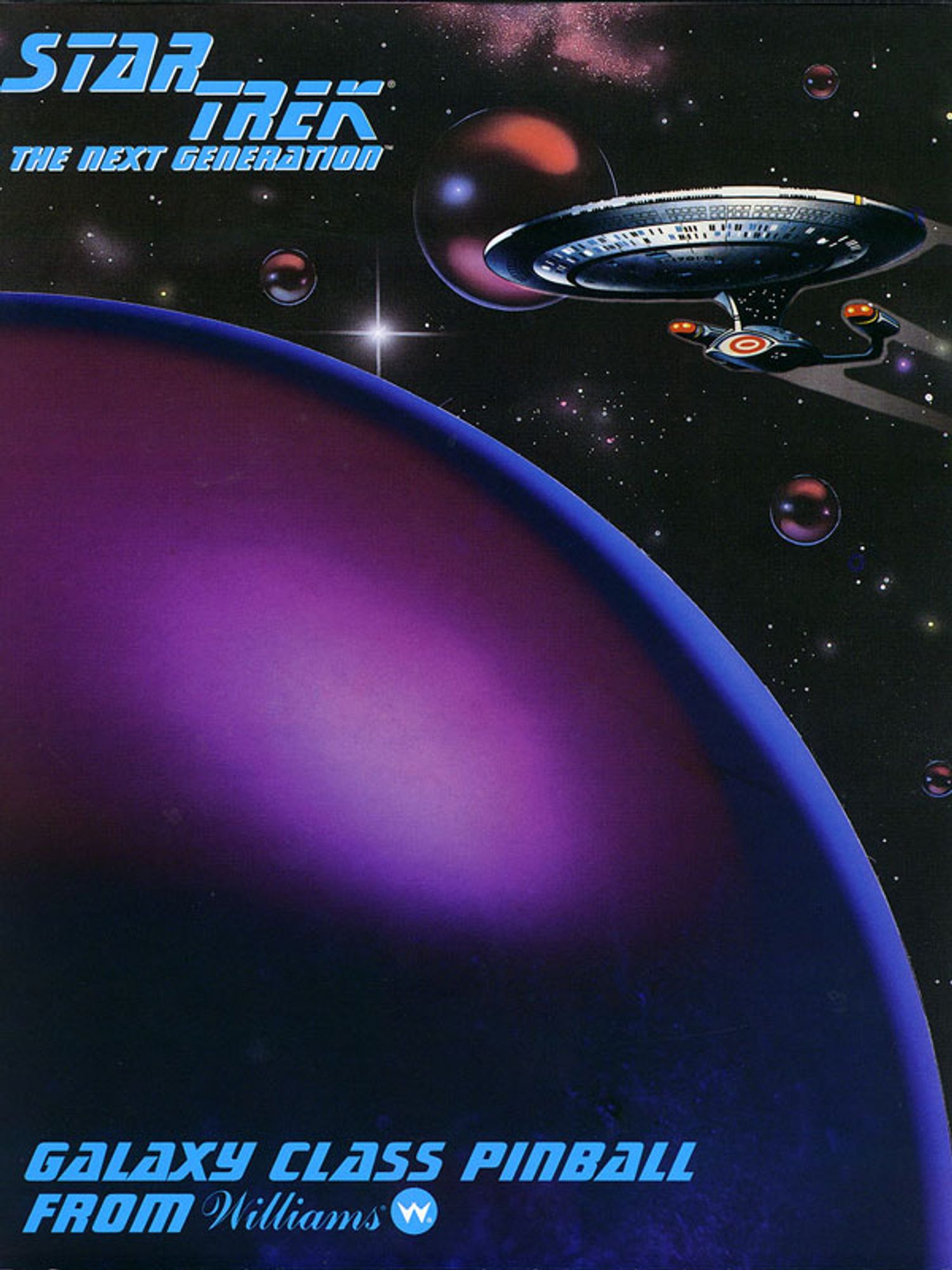 Star Trek next Generation Flyer Seite 1