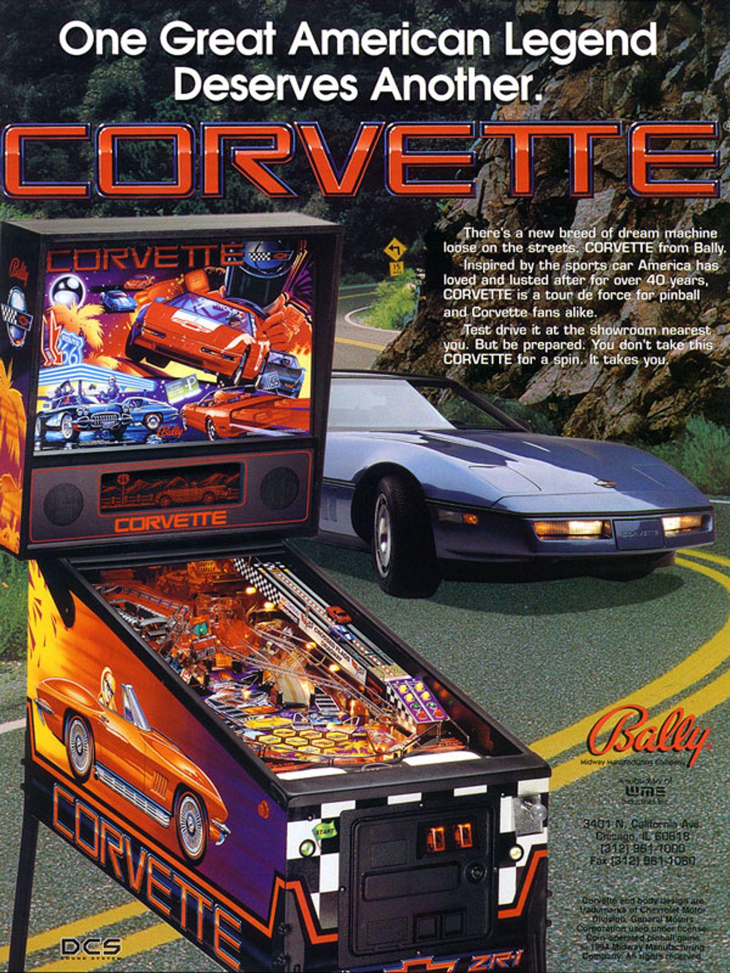 Corvette Flyer Vorderseite