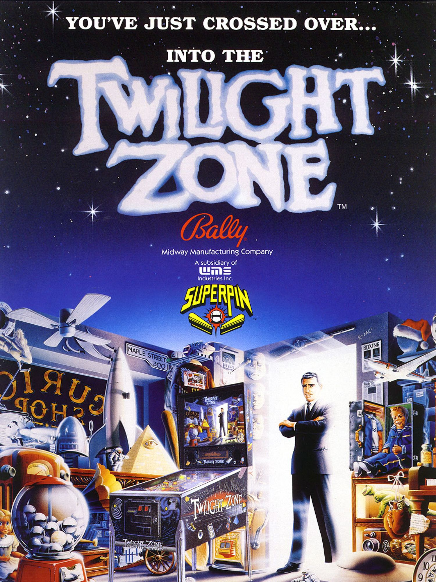 Flyer Twilight Zone front