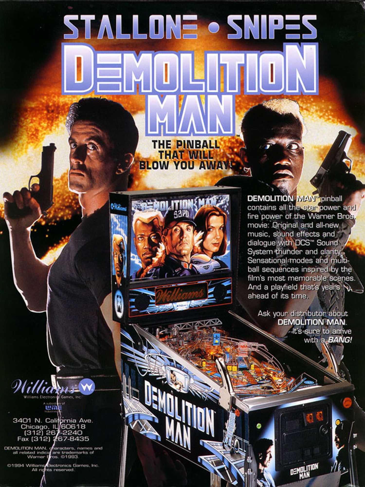 Demolition Man Flyer Seite 1