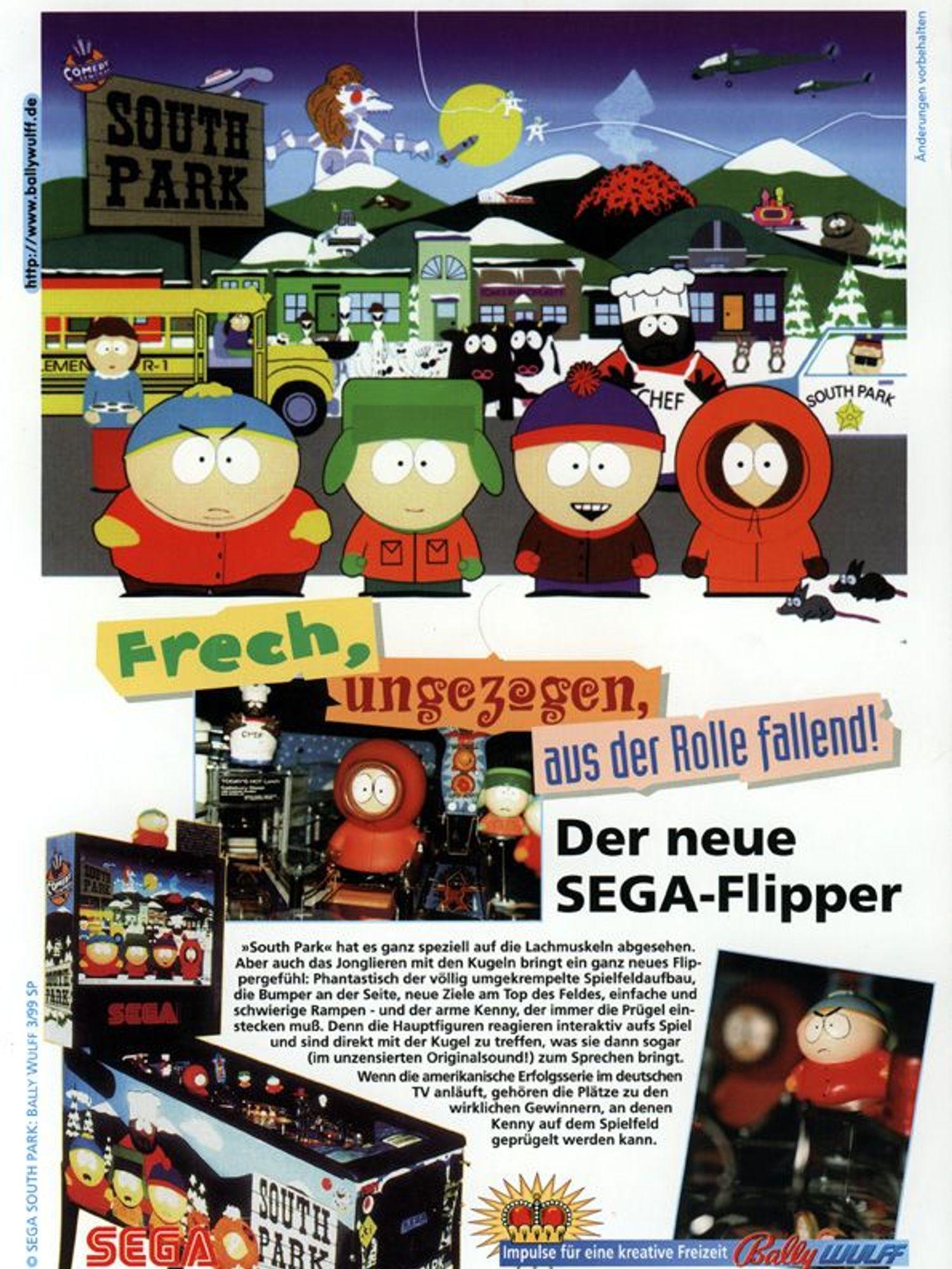 South Park Flyer Deutsch