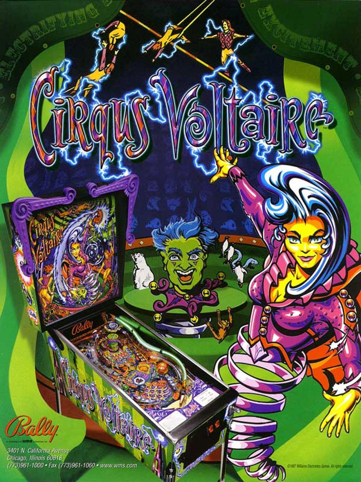 Circus Voltaire Flyer Vorderseite