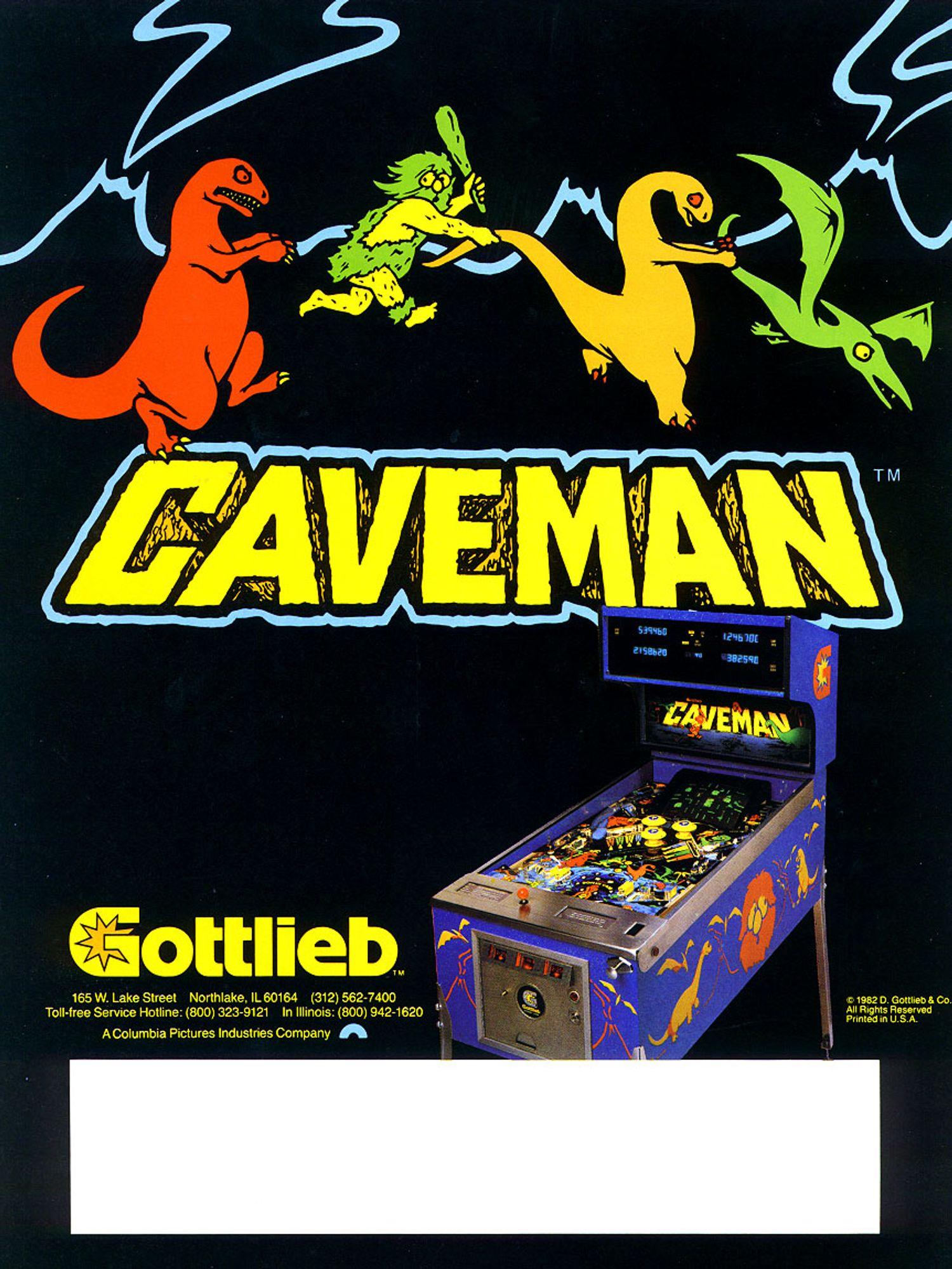 Caveman Flyer back