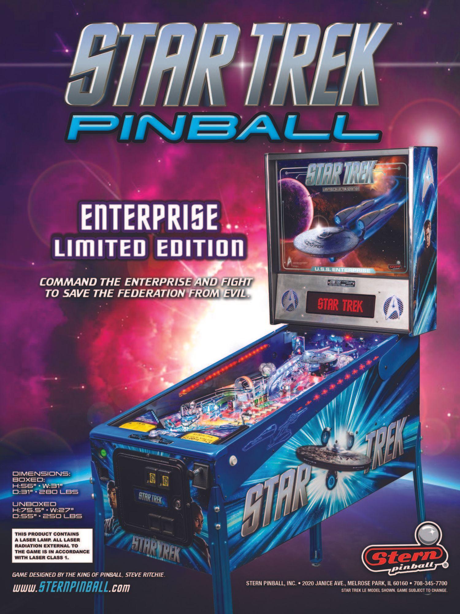 Star Trek LE Flyer Seite 1