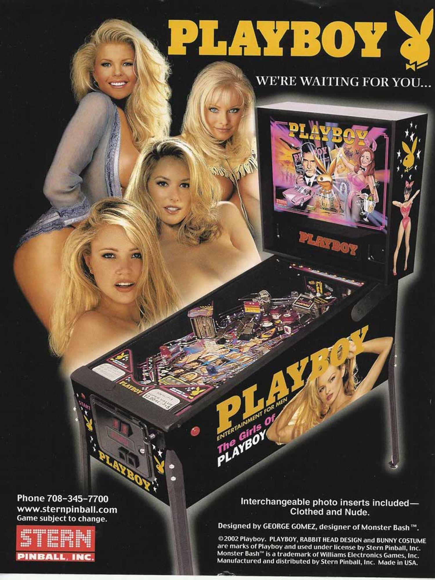 Playboy Flyer Vorderseite
