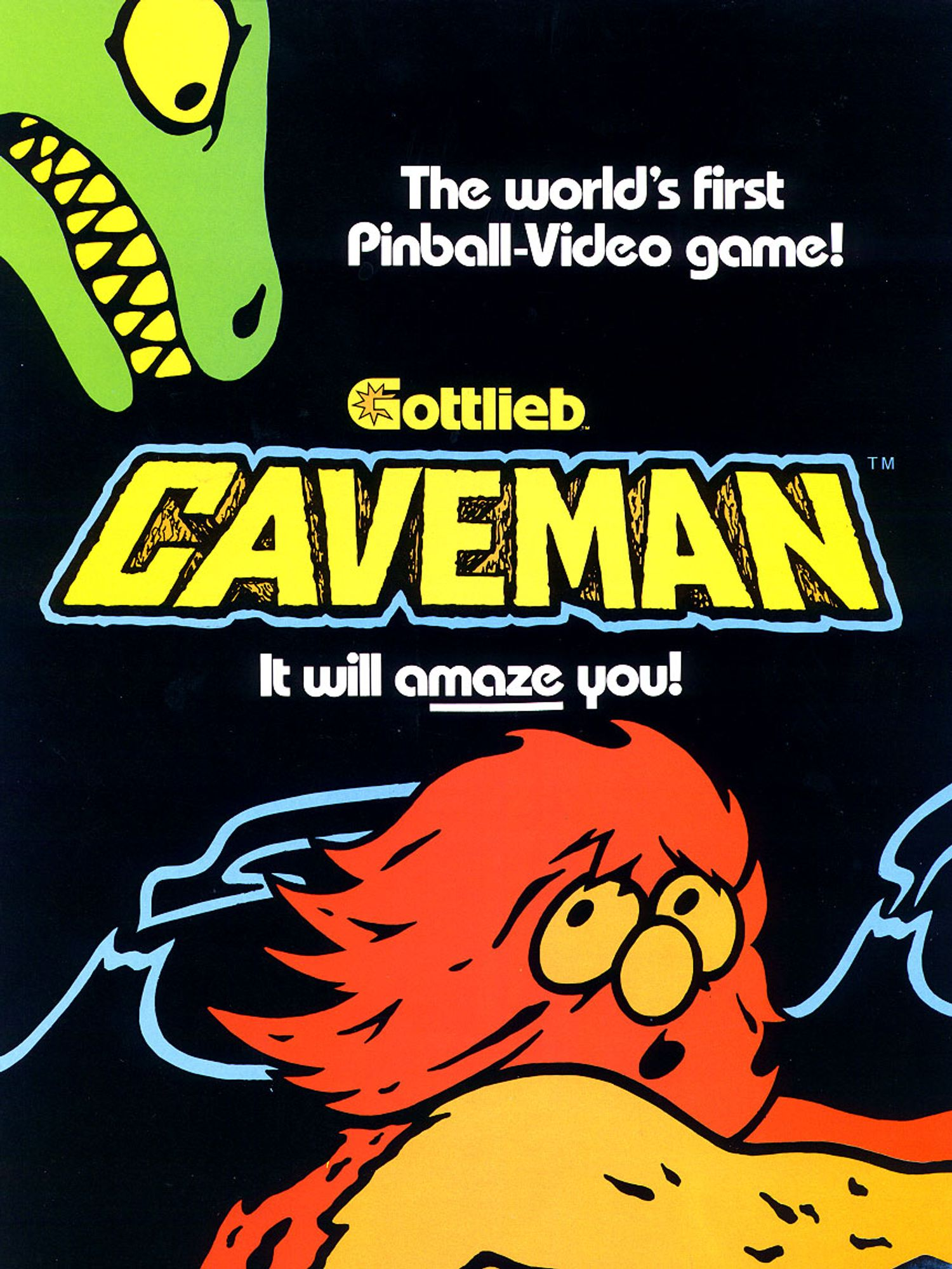 Caveman Flyer front