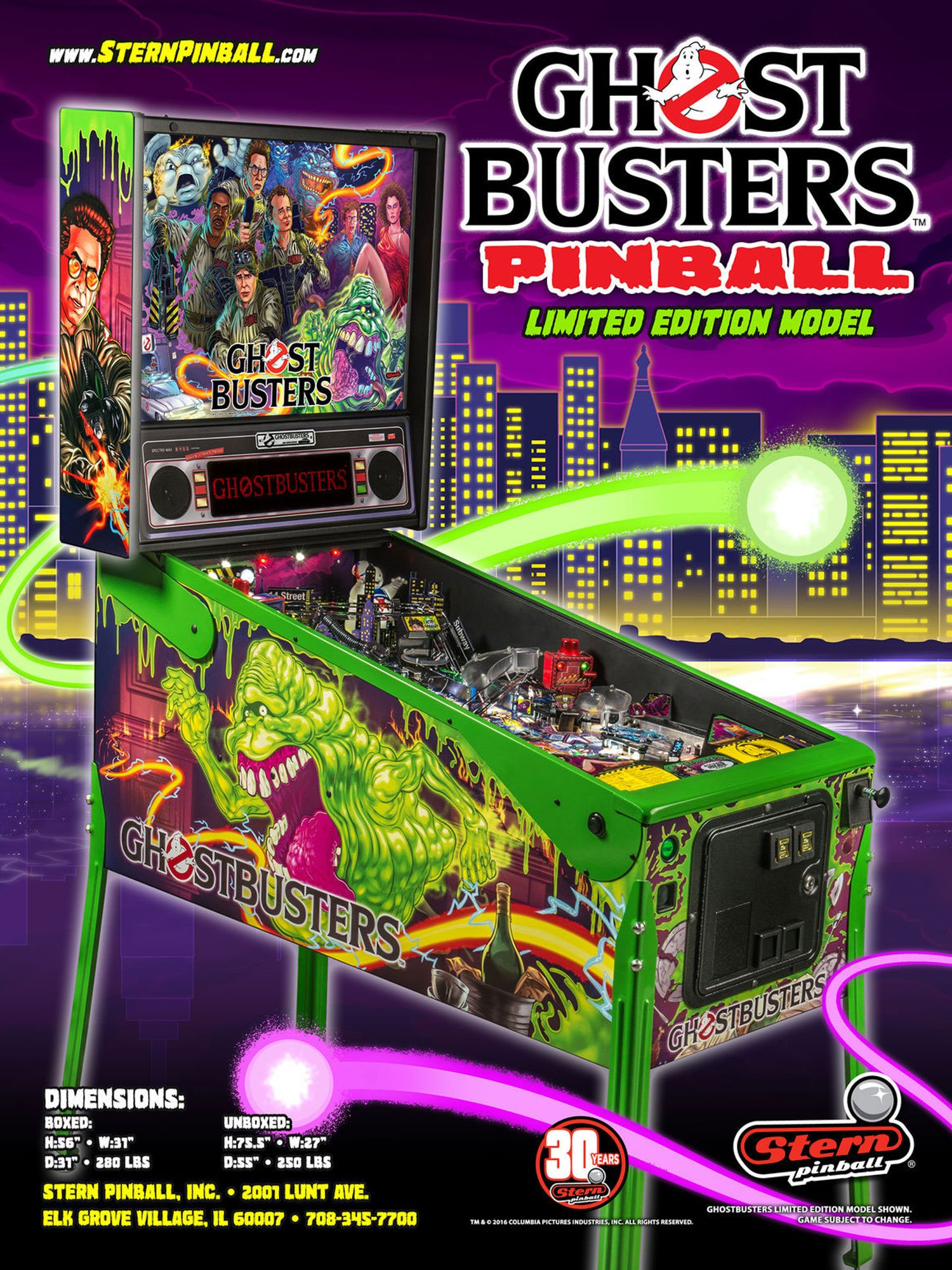 Ghost Busters LE Flyer Vorderseite