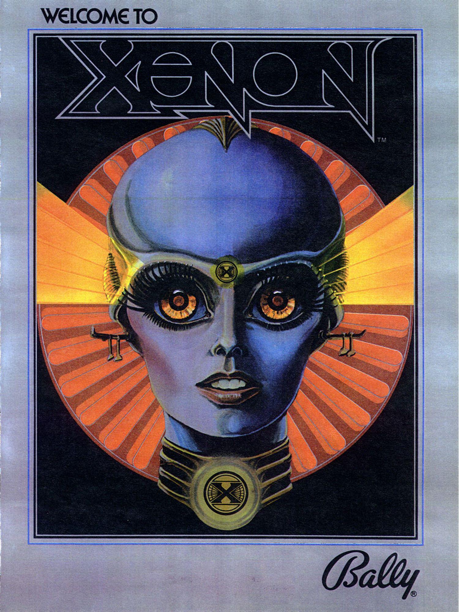 Xenon Flyer Front