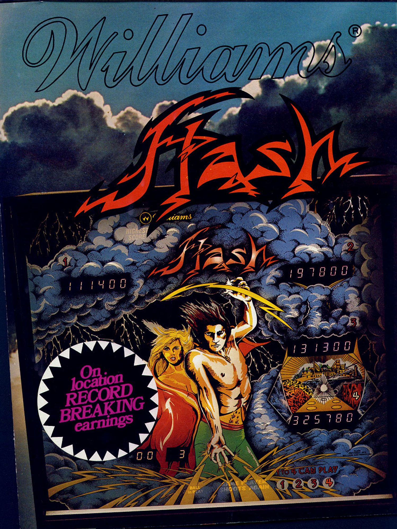 Flash Flyer front