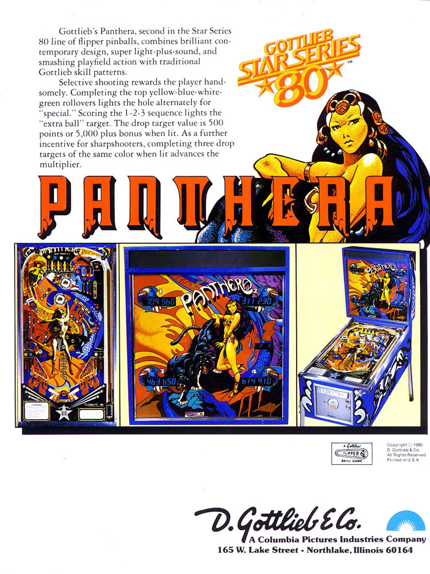 Panthera Flyer back