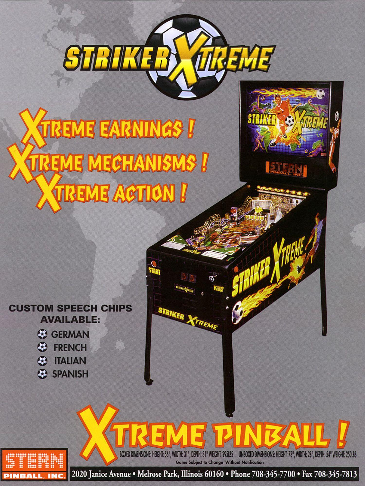 Striker Xtreme Flyer Seite 1