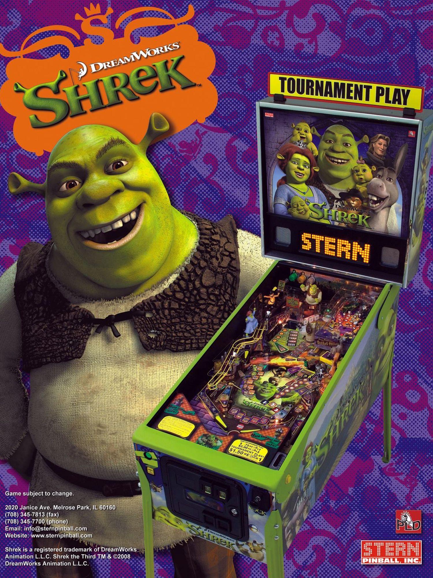 Shrek Flyer Vorderseite