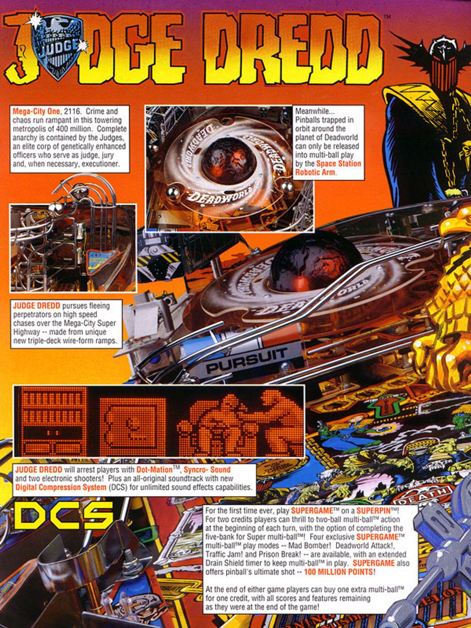 Judge Dredd Flyer Seite 2