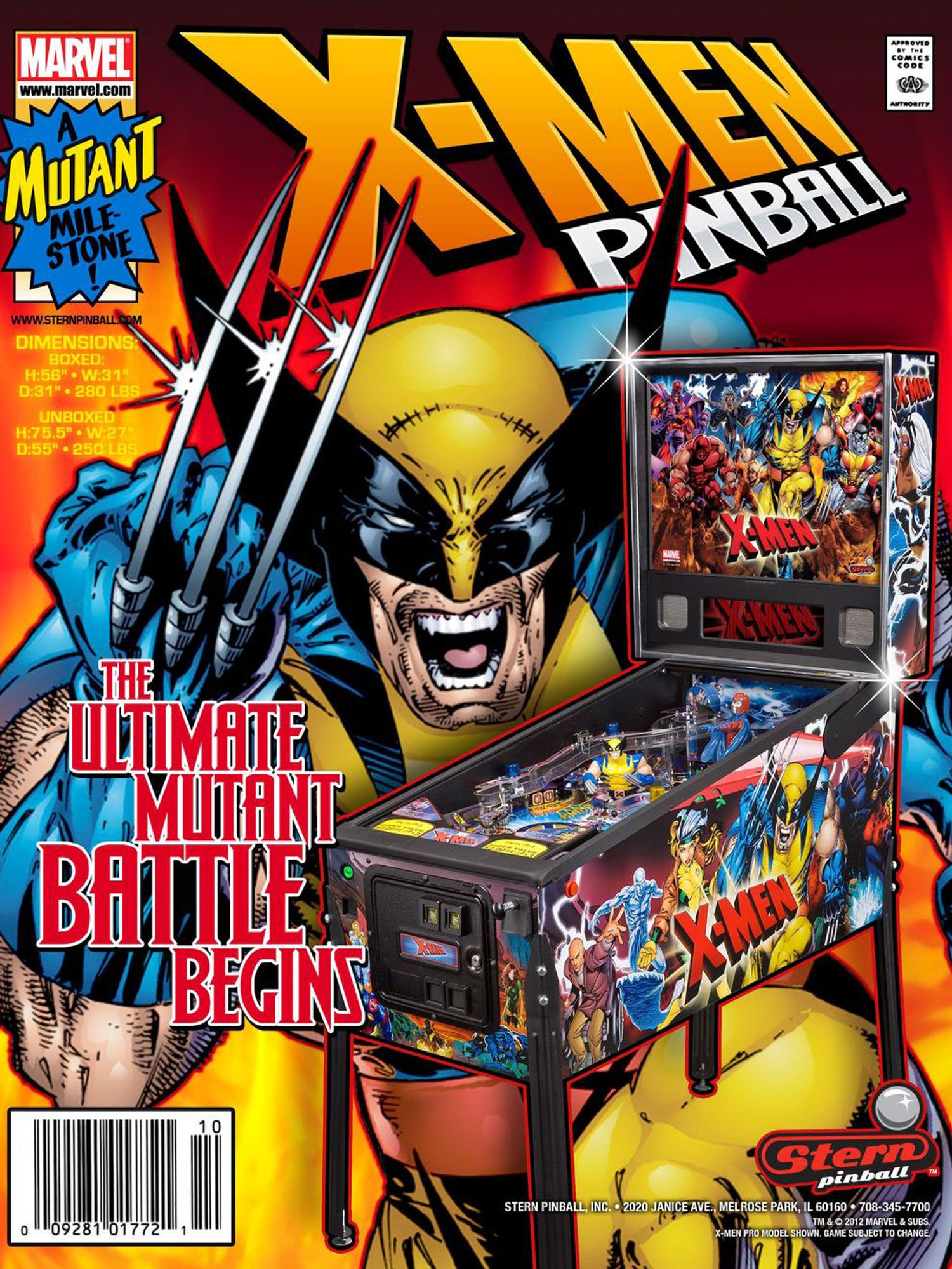 X-Men Flyer Vorderseite