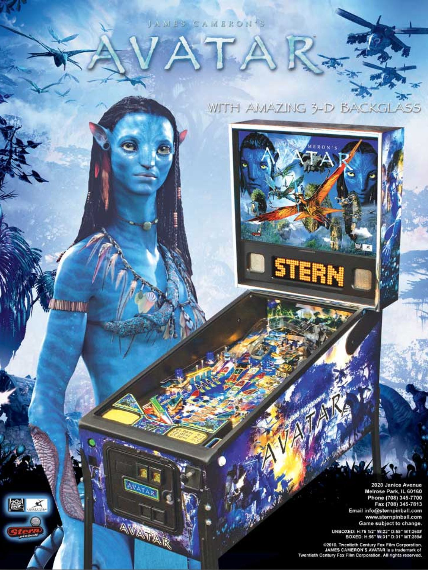 Avatar Flyer