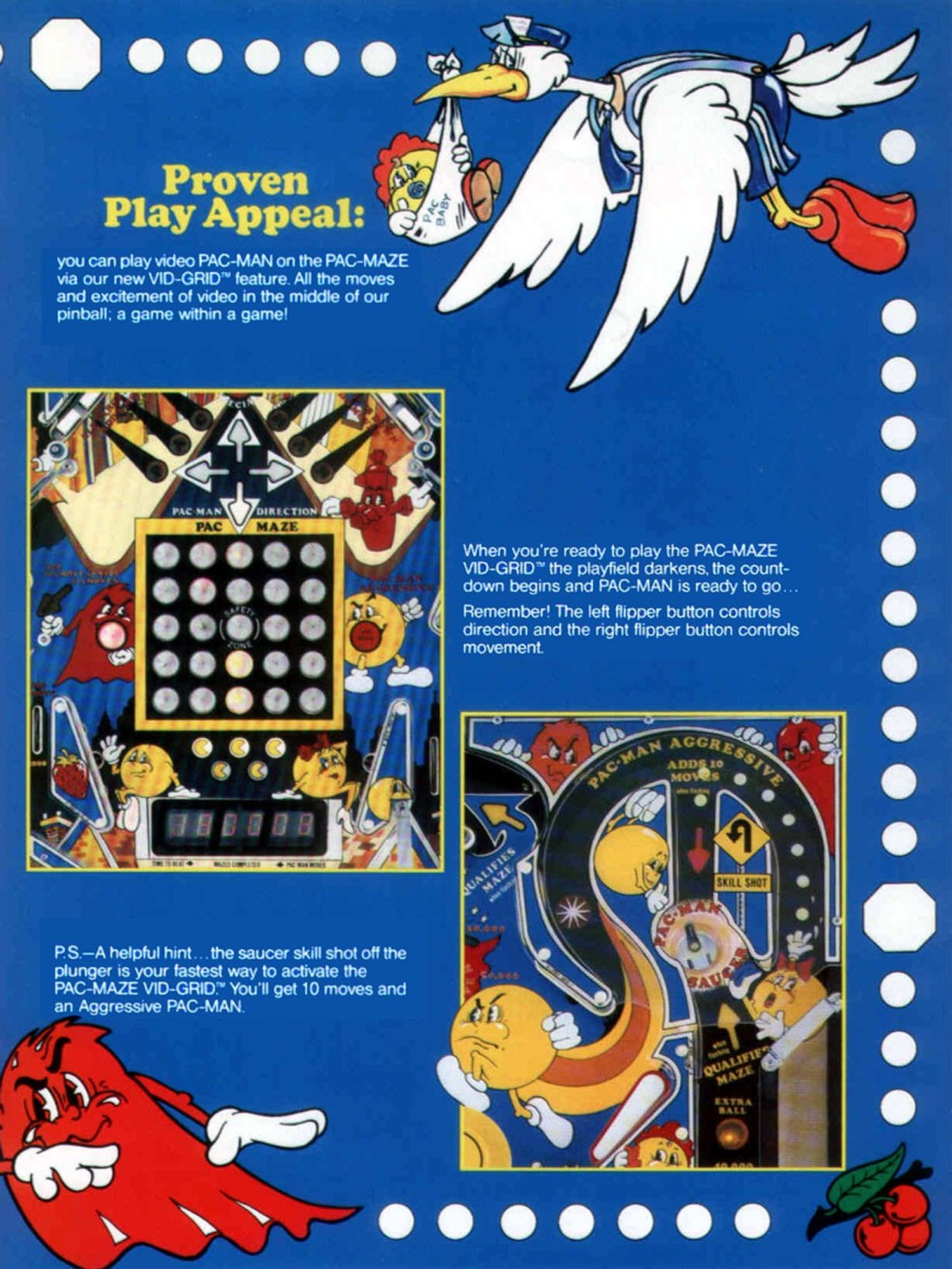 Mr. & Mrs. Pac-Man Flyer 3
