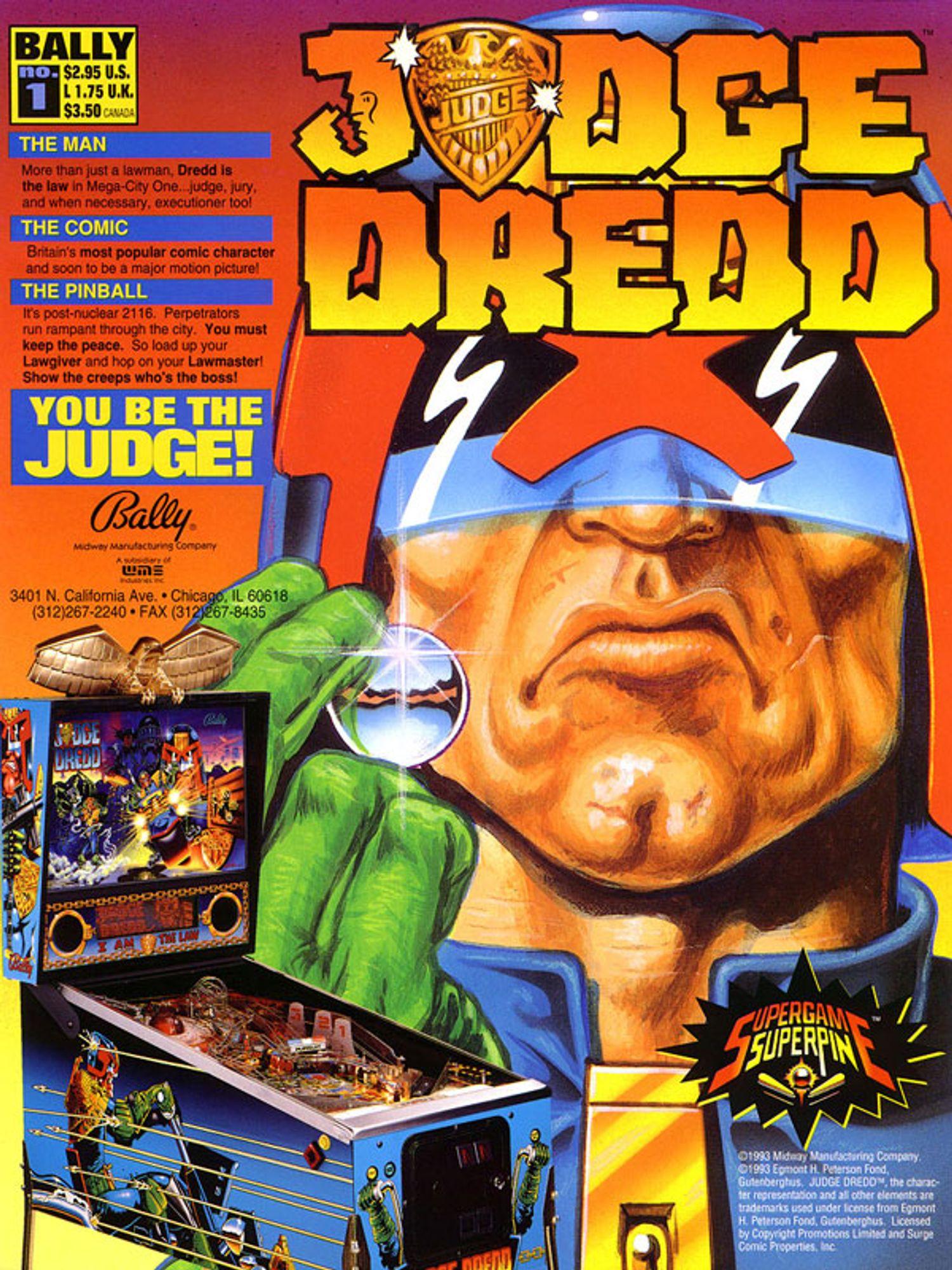 Judge Dredd Flyer Seite 1