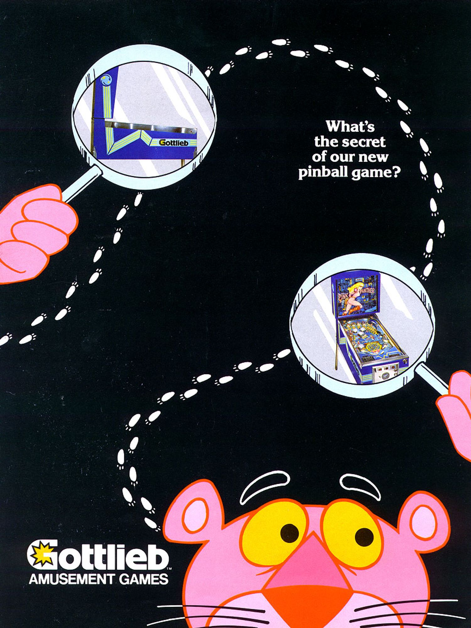 Pink Panther Flyer front