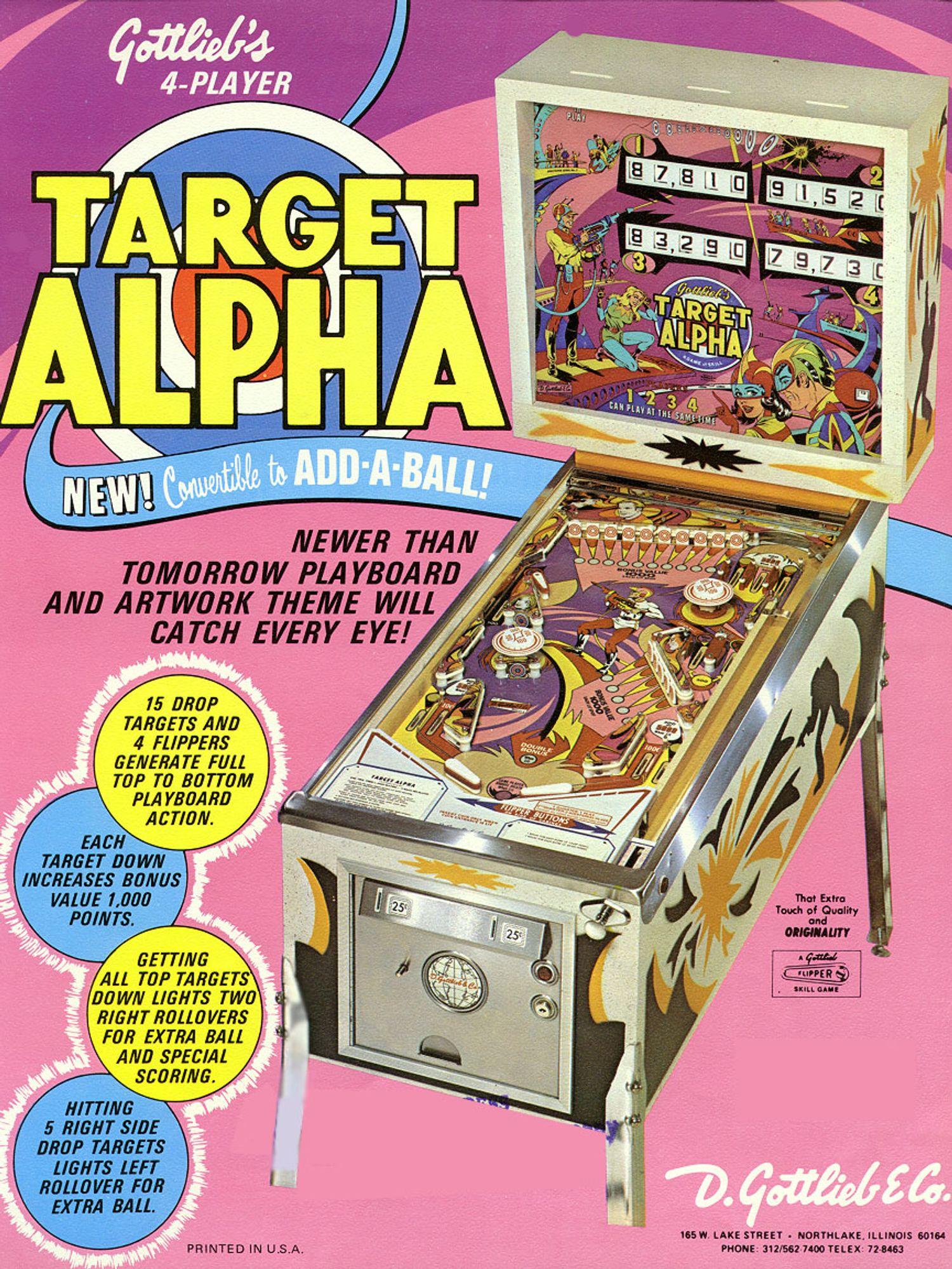 Target Alpha Flyer