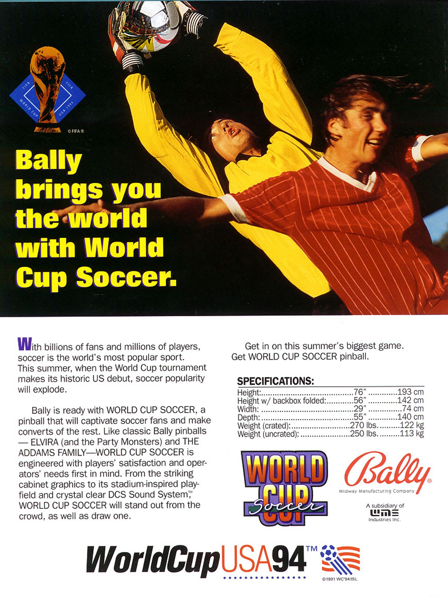 World Cup Soccer Flyer Seite 4