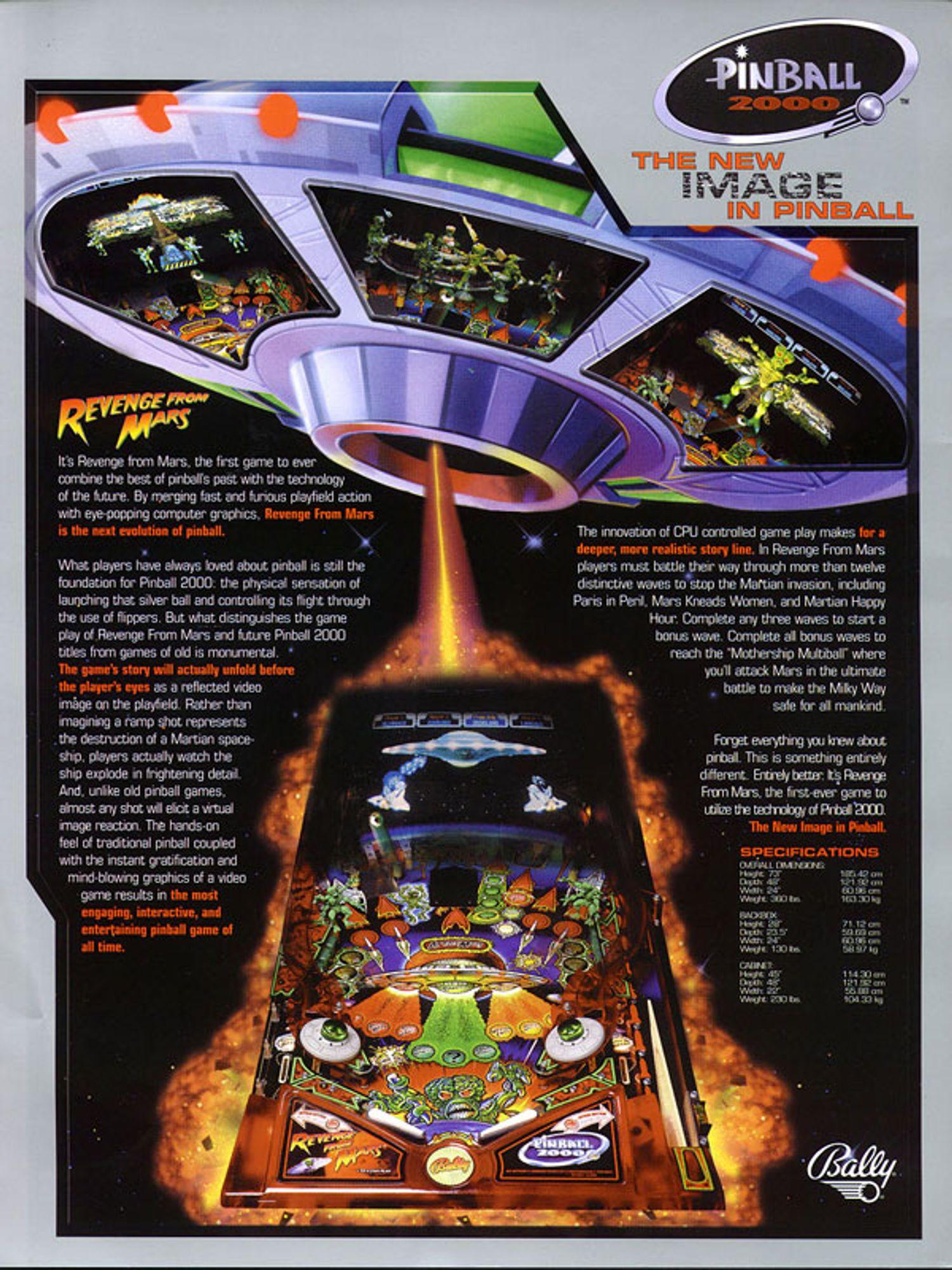 Revenge from Mars Flyer Seite 2