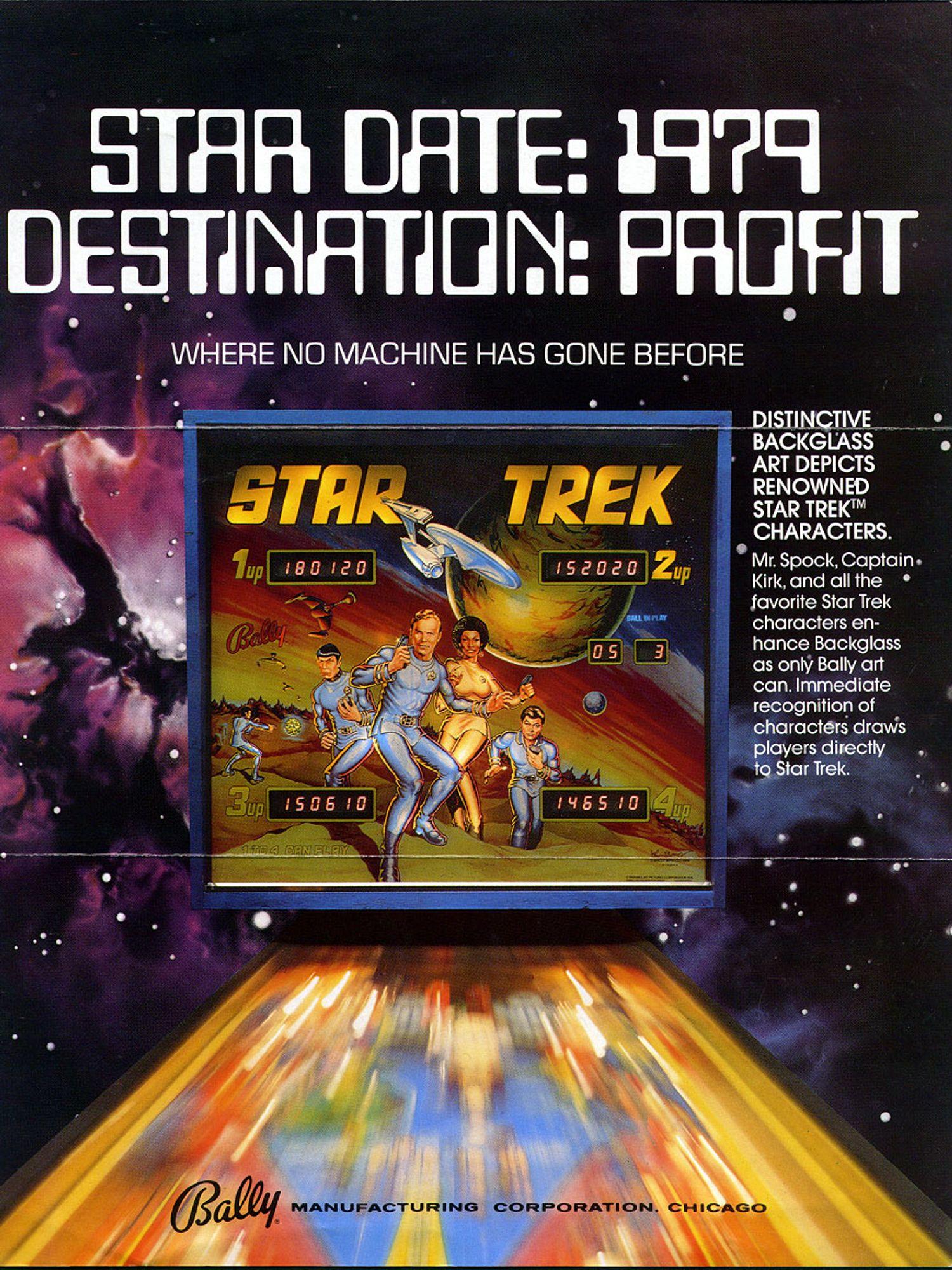 Star Trek Flyer front