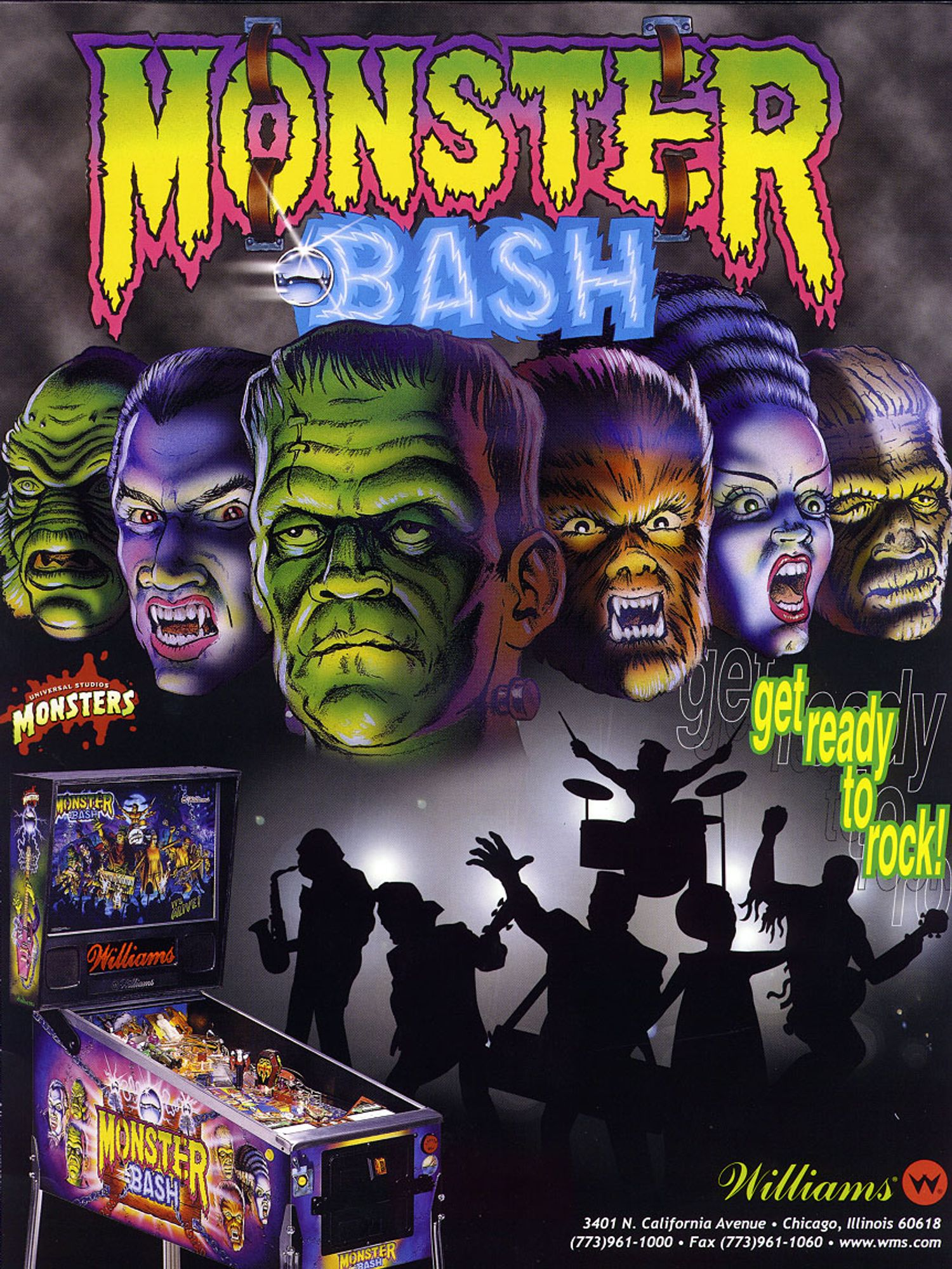 Monster Bash Flyer Vorderseite