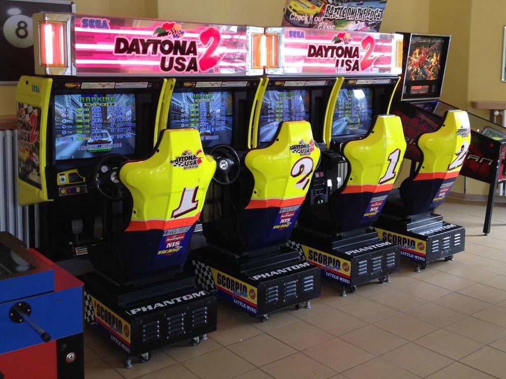 Sega Daytona 2 quadro
