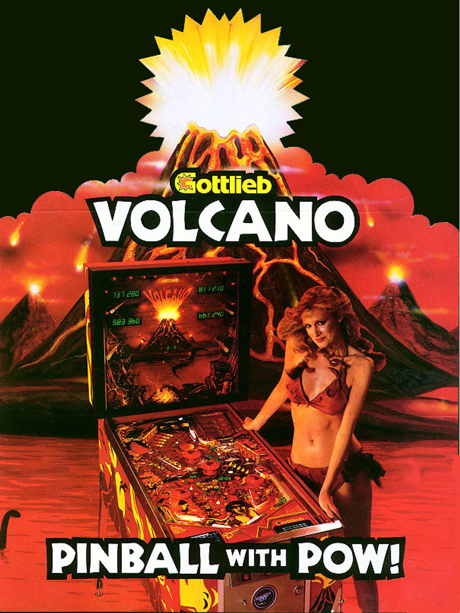 Volcano Flyer front