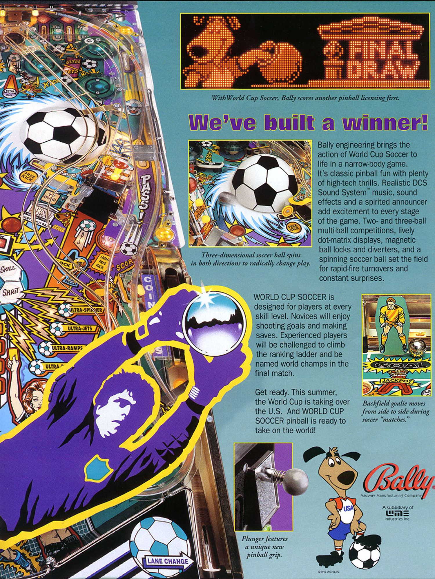 World Cup Soccer Flyer Seite 3