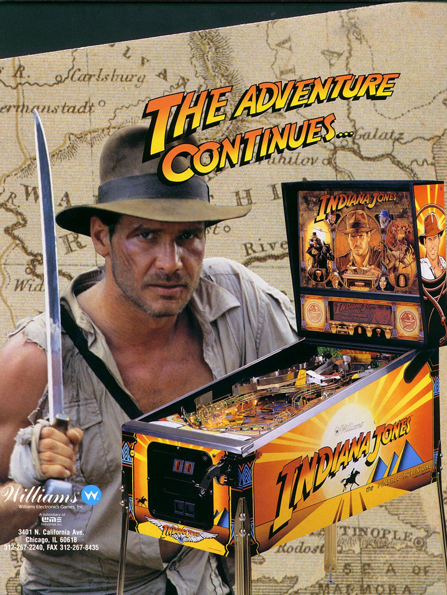 Indiana Jones Flyer Vorderseite